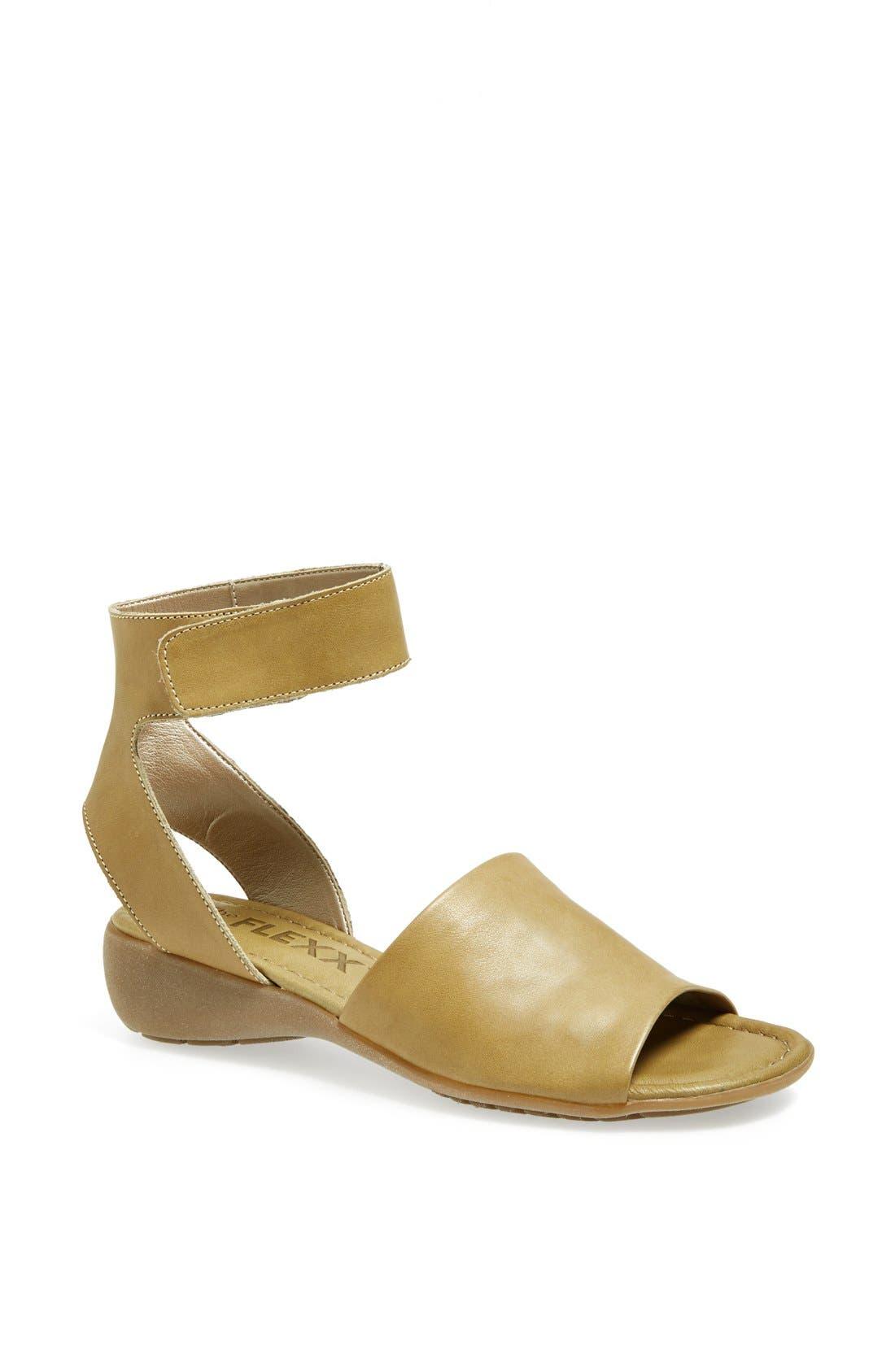 'Beglad' Leather Ankle Strap Sandal,                             Main thumbnail 13, color,