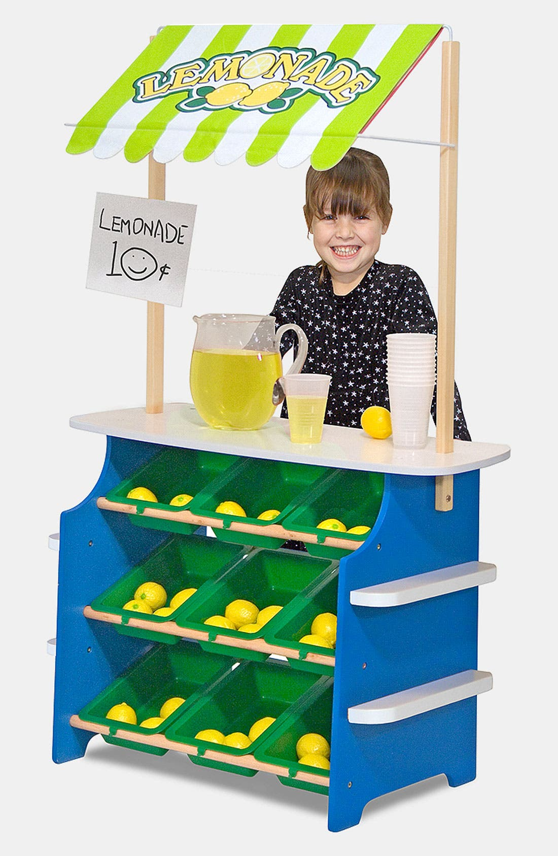 Play Time Convertible Grocery Store & Lemonade Stand,                             Main thumbnail 1, color,                             MULTI