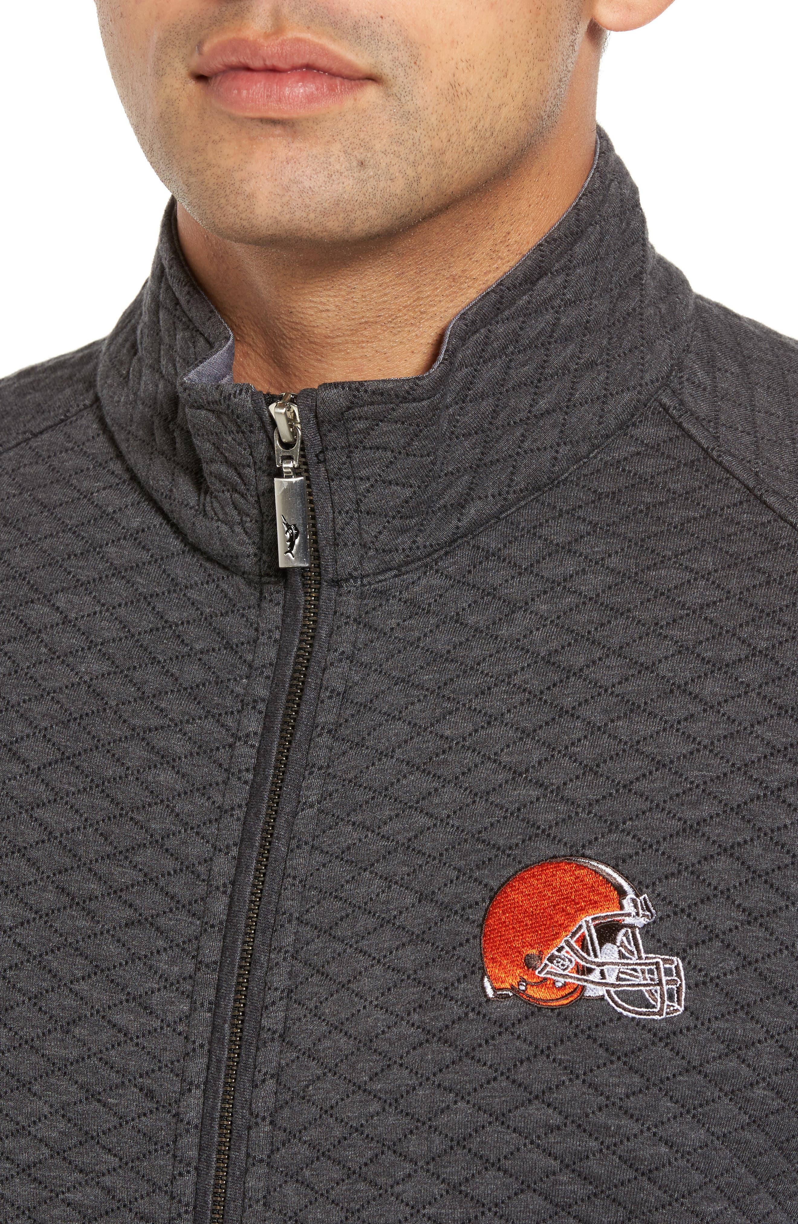 NFL Quiltessential Full Zip Sweatshirt,                             Alternate thumbnail 100, color,