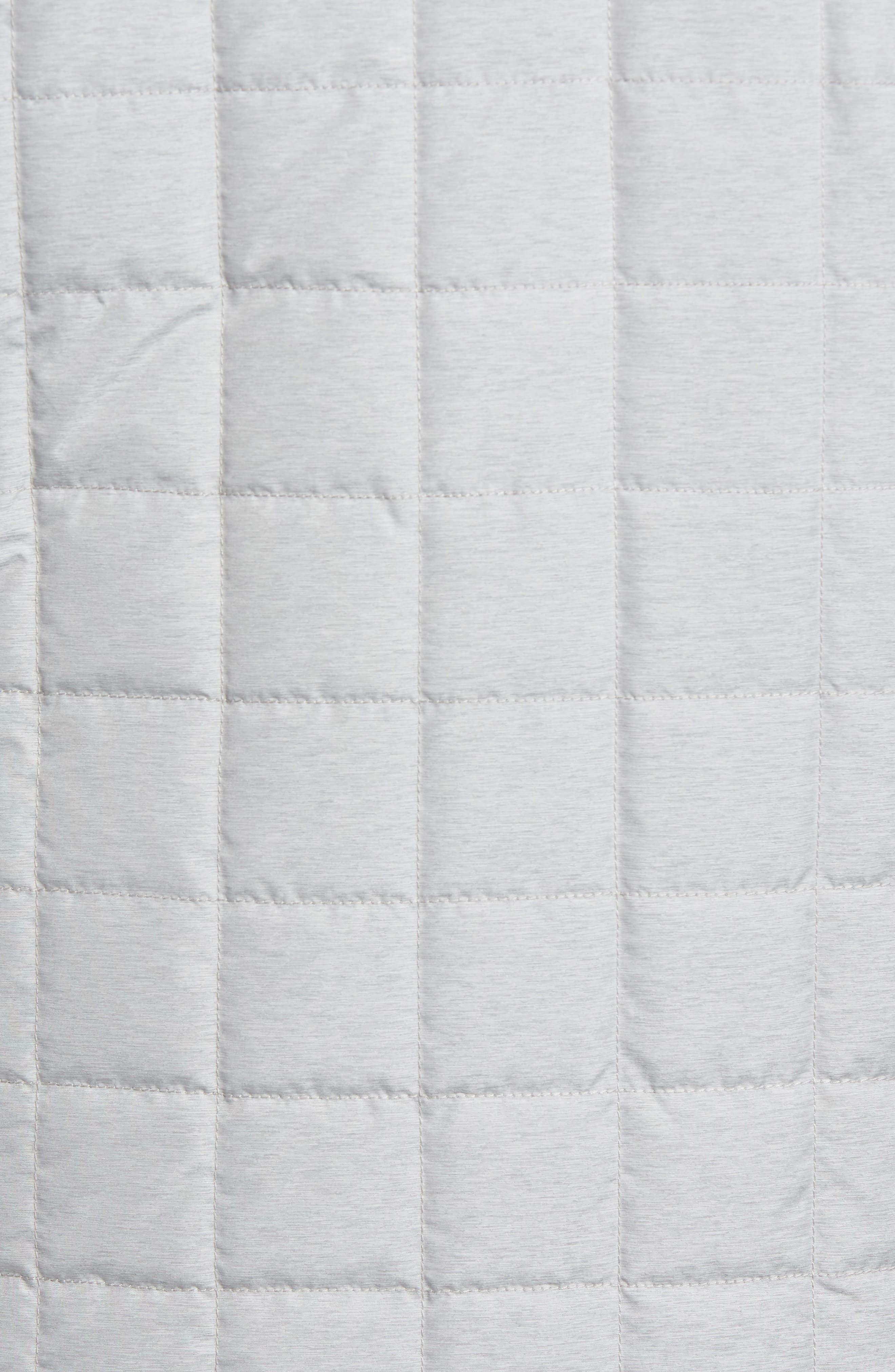 Seneca Quilted Vest,                             Alternate thumbnail 7, color,                             BRITISH GREY