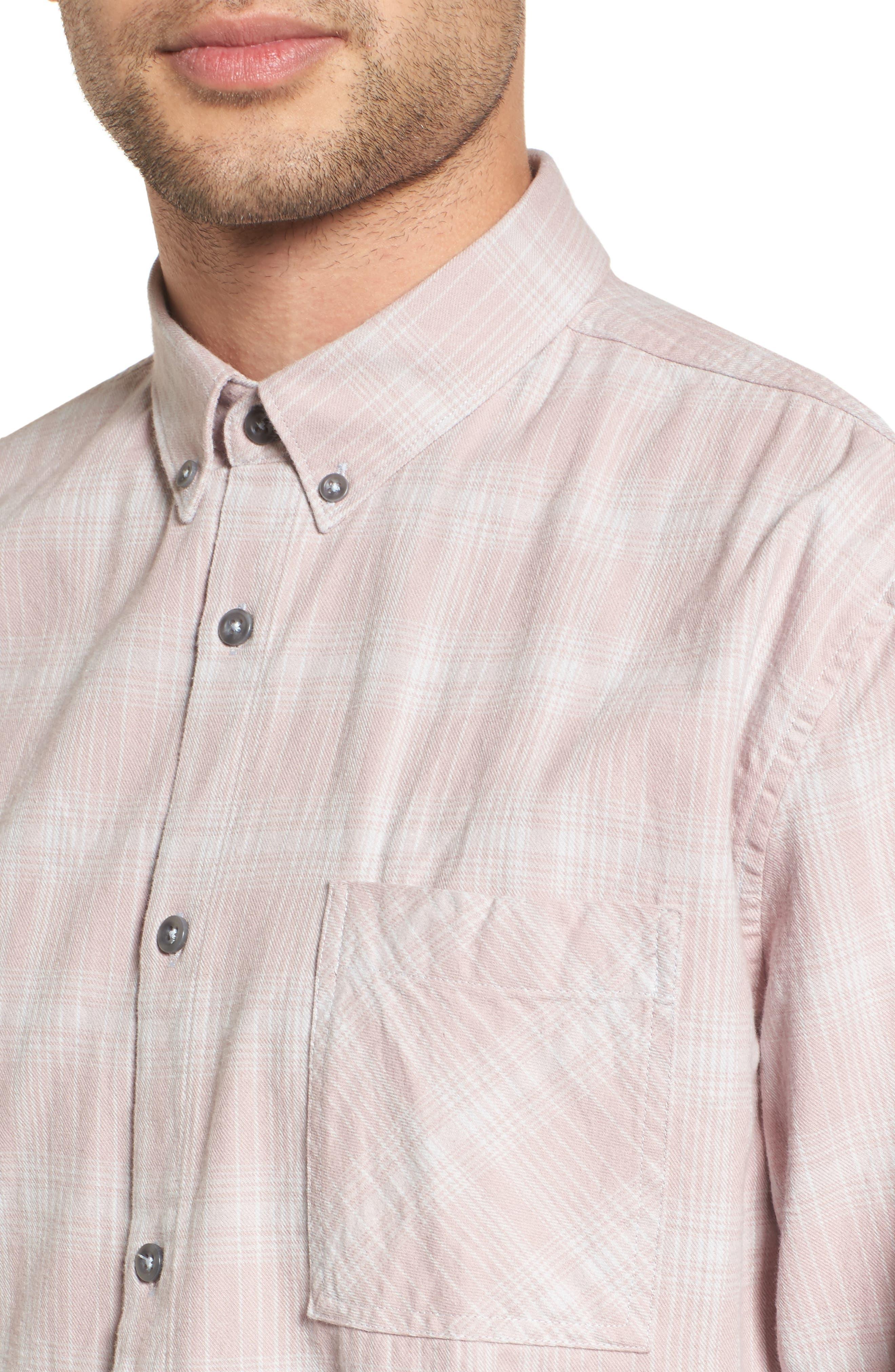 Flannel Box Shirt,                             Alternate thumbnail 8, color,