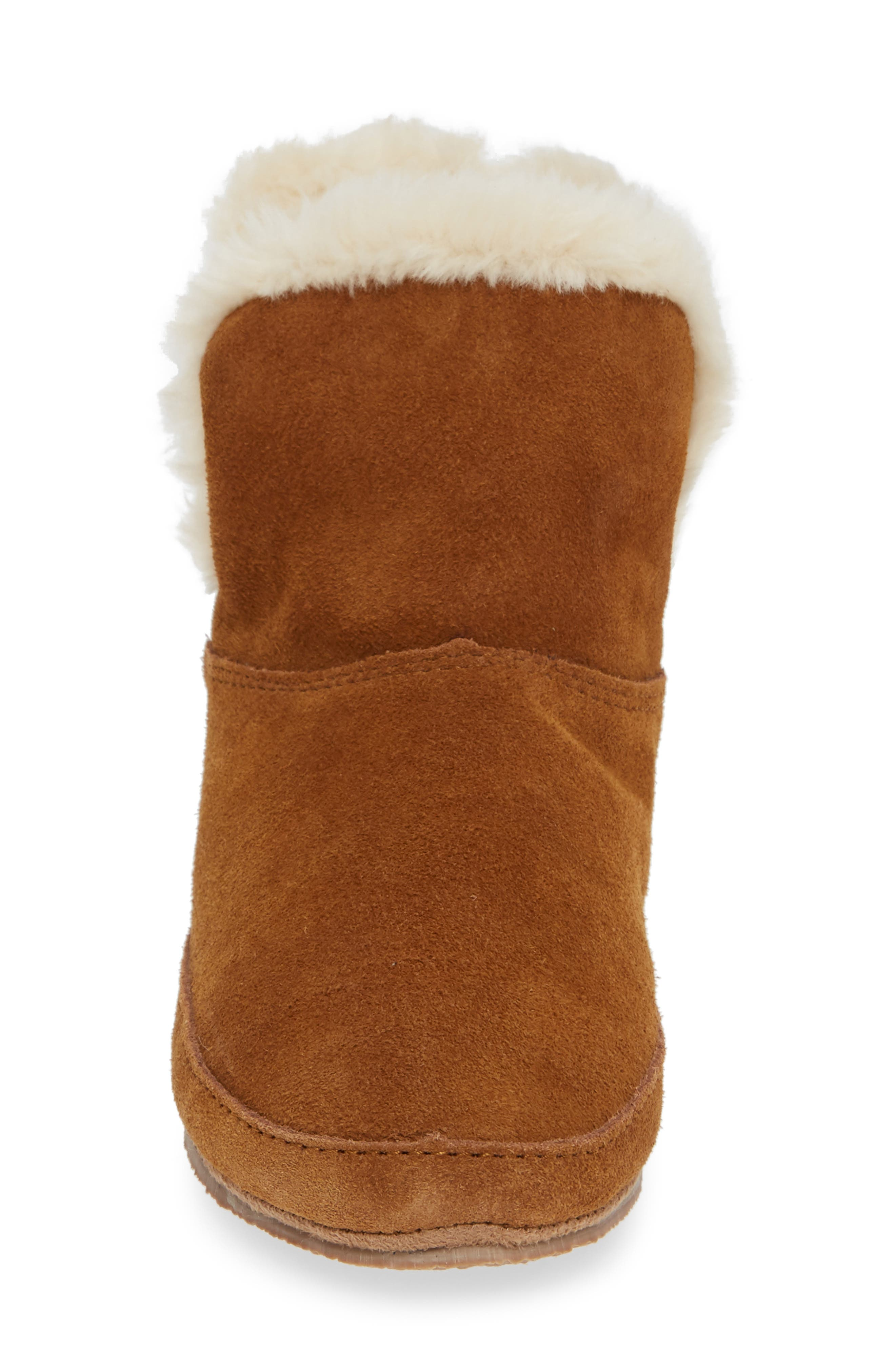 The Suede Slipper Bootie,                             Alternate thumbnail 4, color,                             200