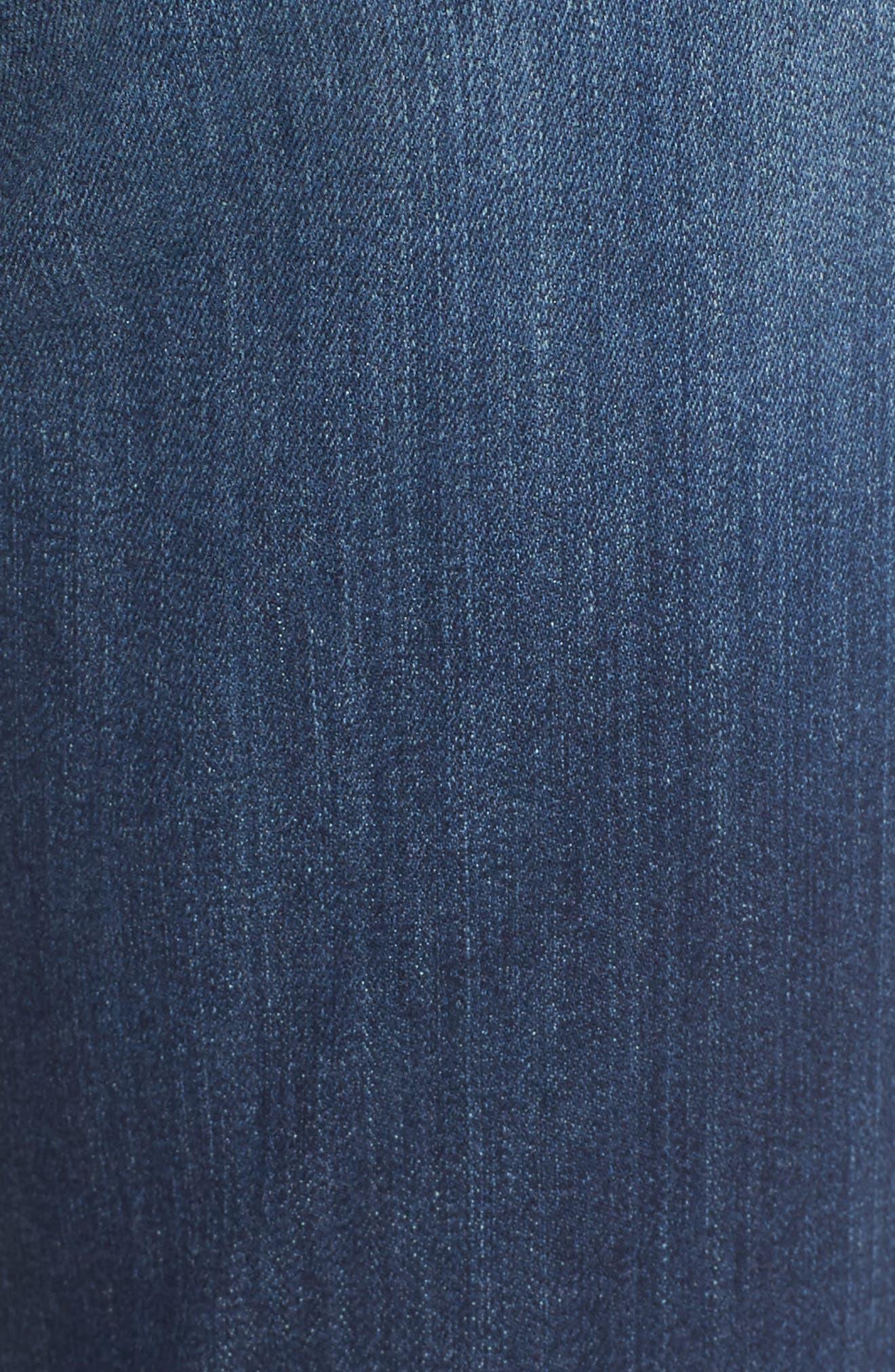 Ami Release Hem Stretch Skinny Jeans,                             Alternate thumbnail 5, color,                             464