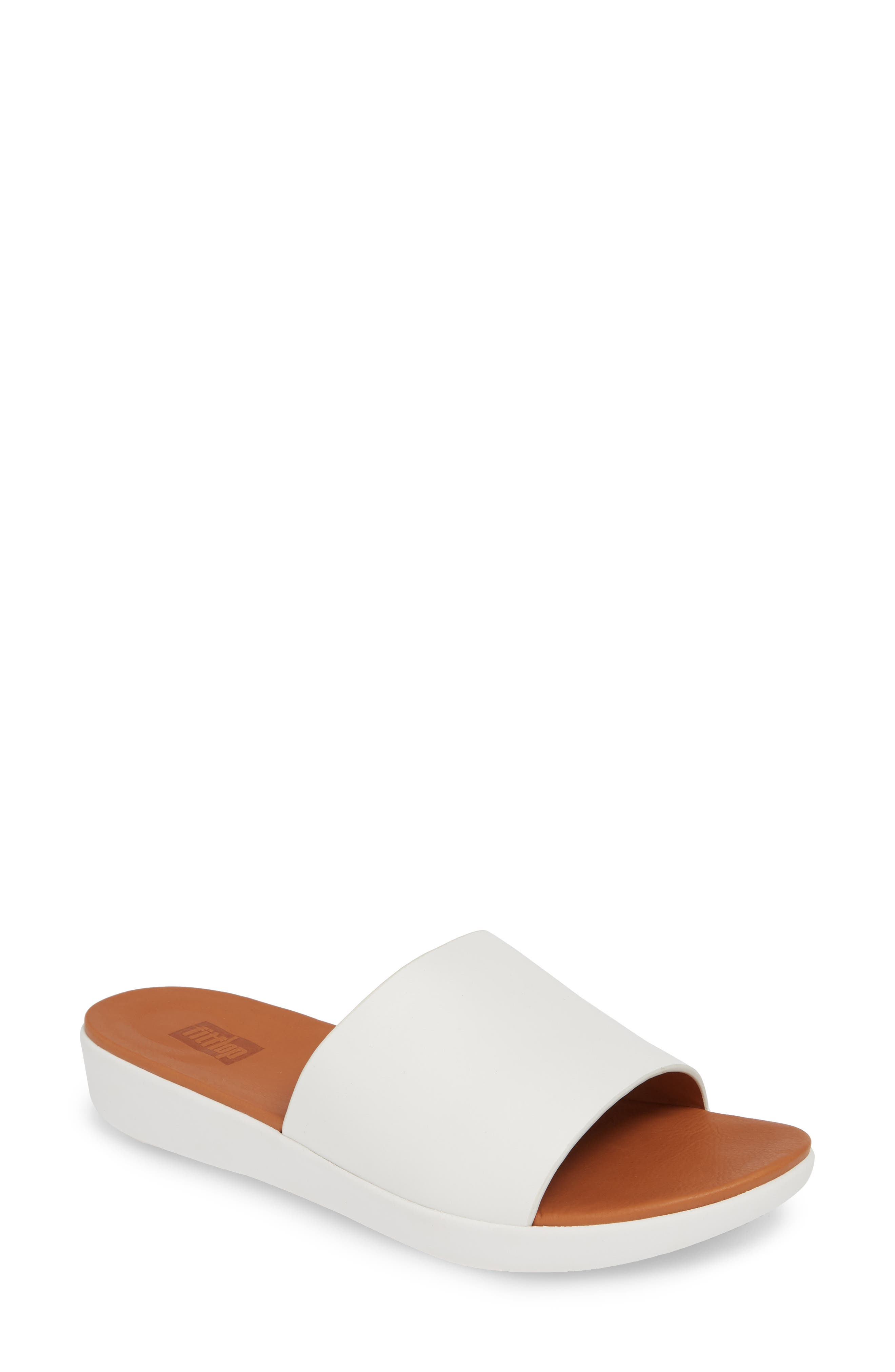 FITFLOP Sola Sandal, Main, color, URBAN WHITE LEATHER