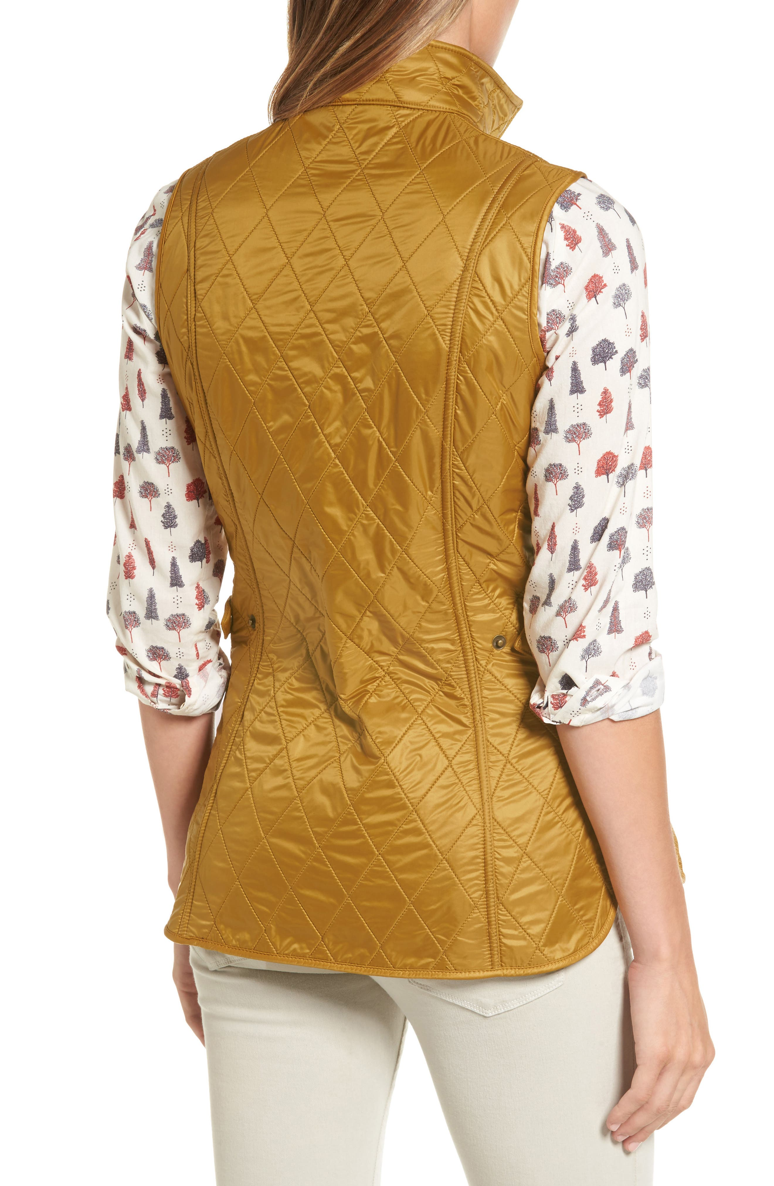 Wray Water Resistant Quilted Gilet,                             Alternate thumbnail 8, color,