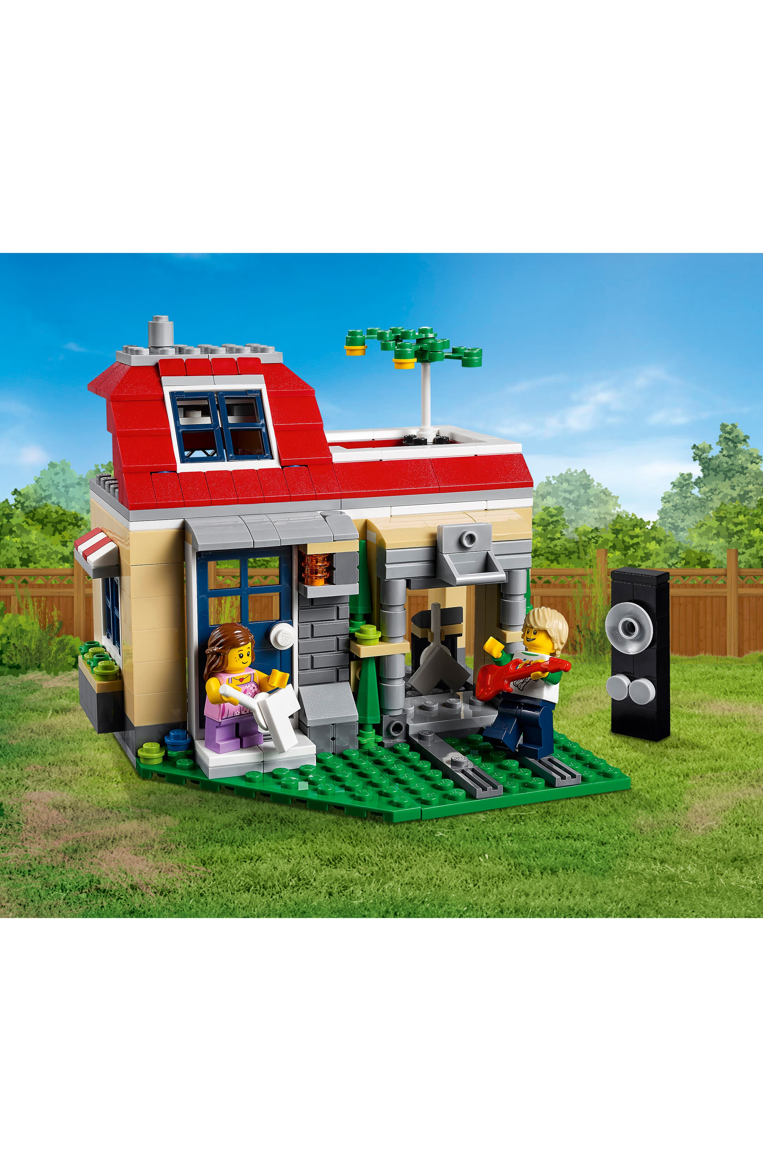 Creator 3-in-1 Modular Poolside Holiday Play Set - 31067,                             Alternate thumbnail 3, color,                             250