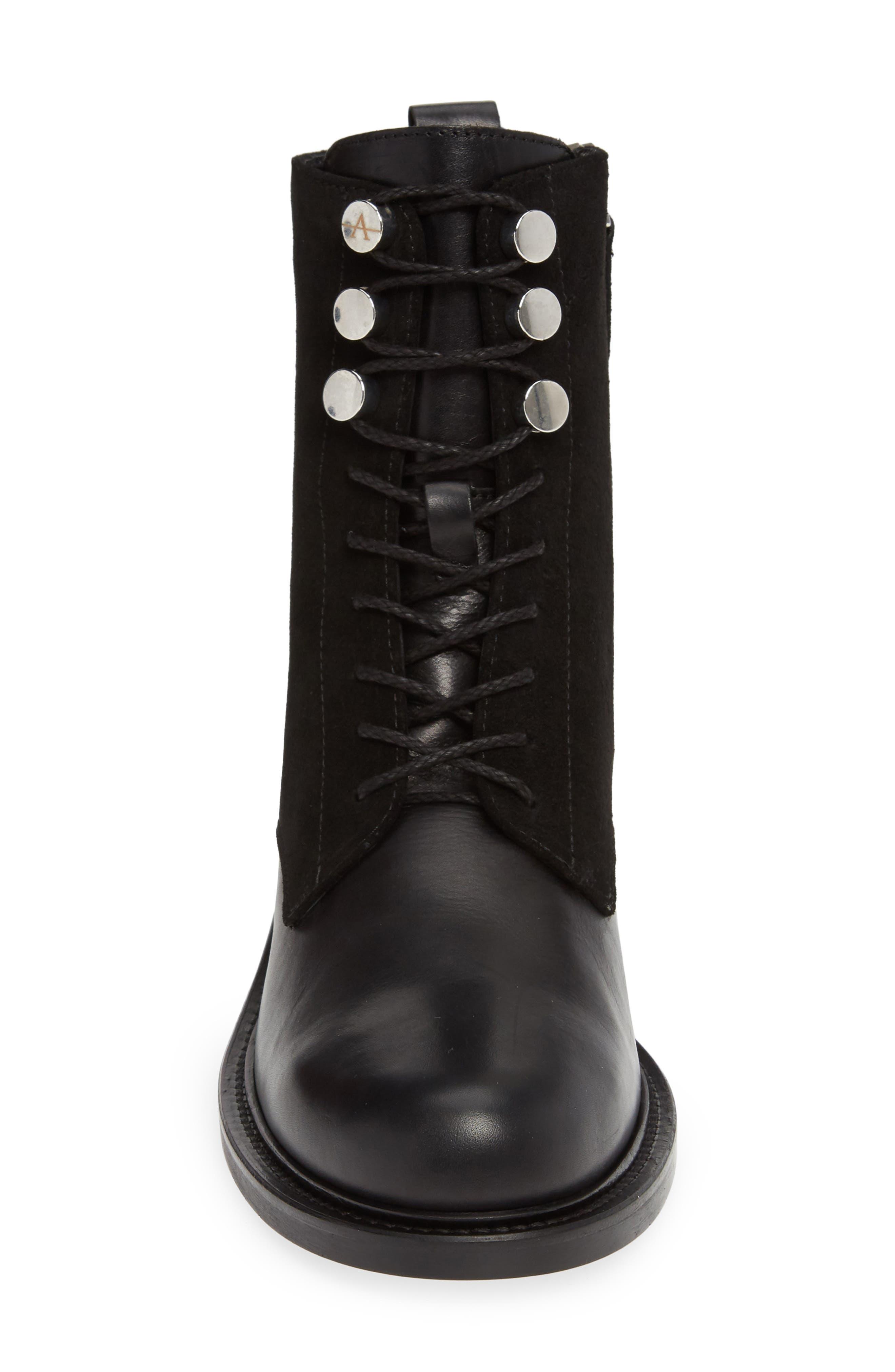 Ali Weatherproof Boot,                             Alternate thumbnail 4, color,                             BLACK