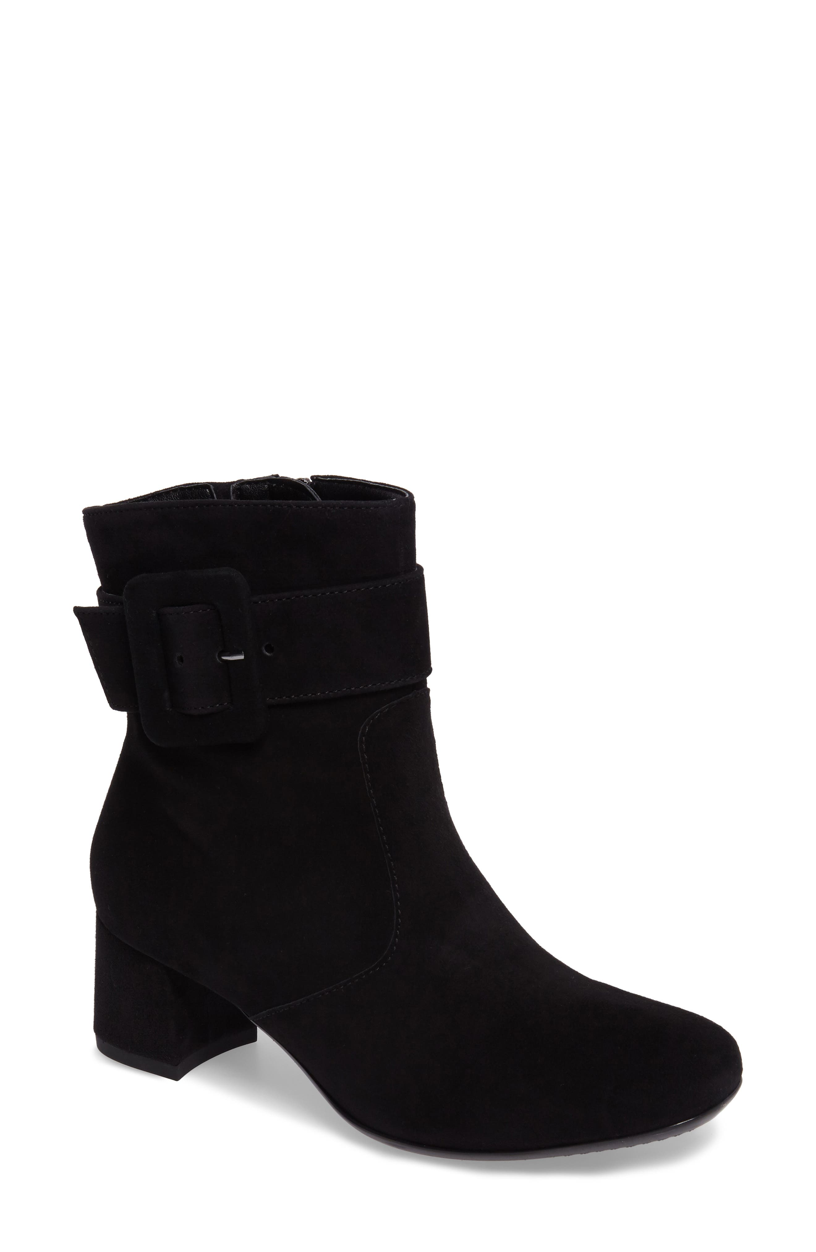 Charlize Boot,                         Main,                         color, BLACK SUEDE