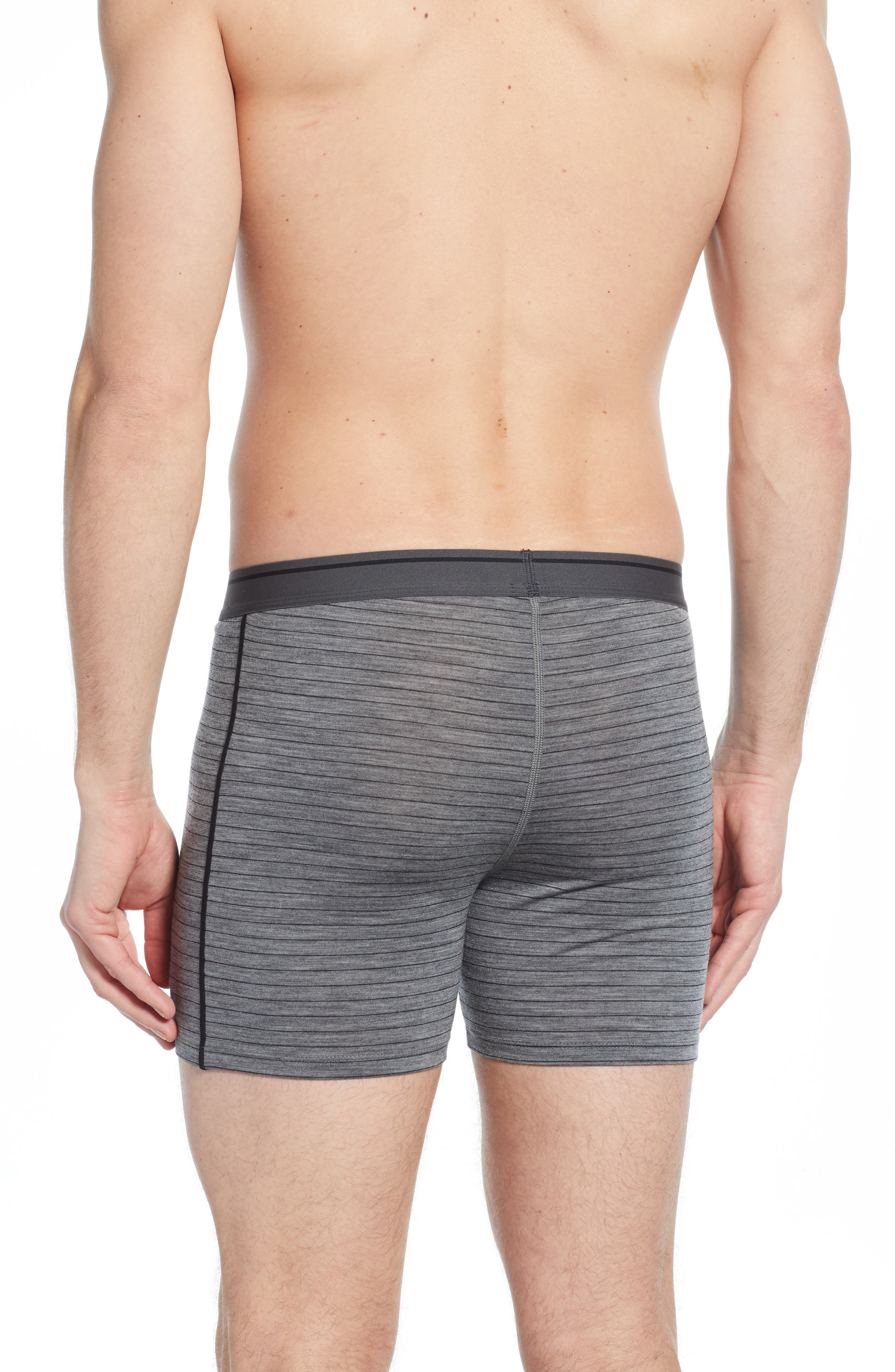 Anatomica Boxers,                             Alternate thumbnail 2, color,                             GRITSTONE HEATHER/ BLACK