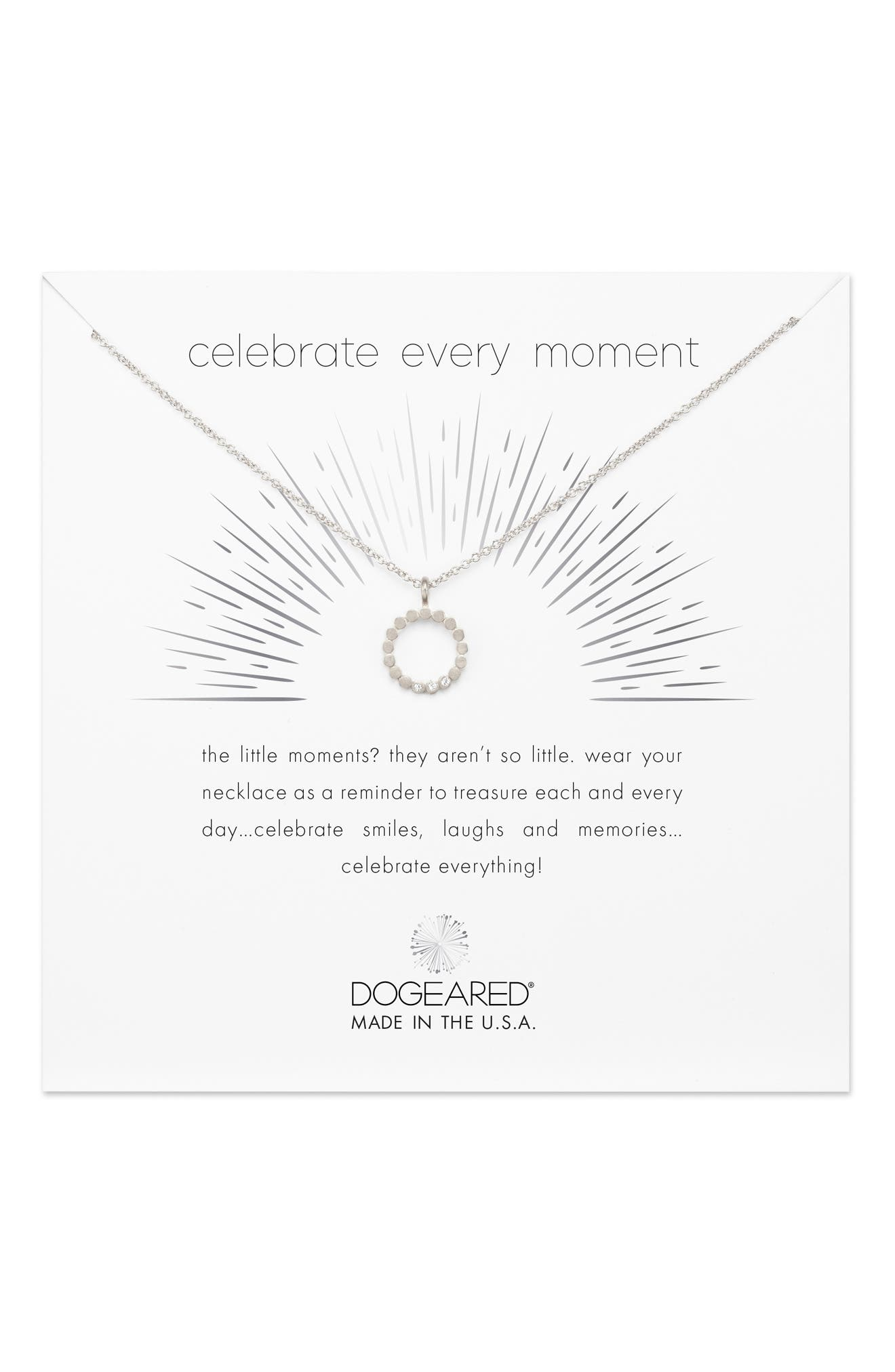 Celebrate Every Moment Pendant Necklace,                             Main thumbnail 1, color,                             045