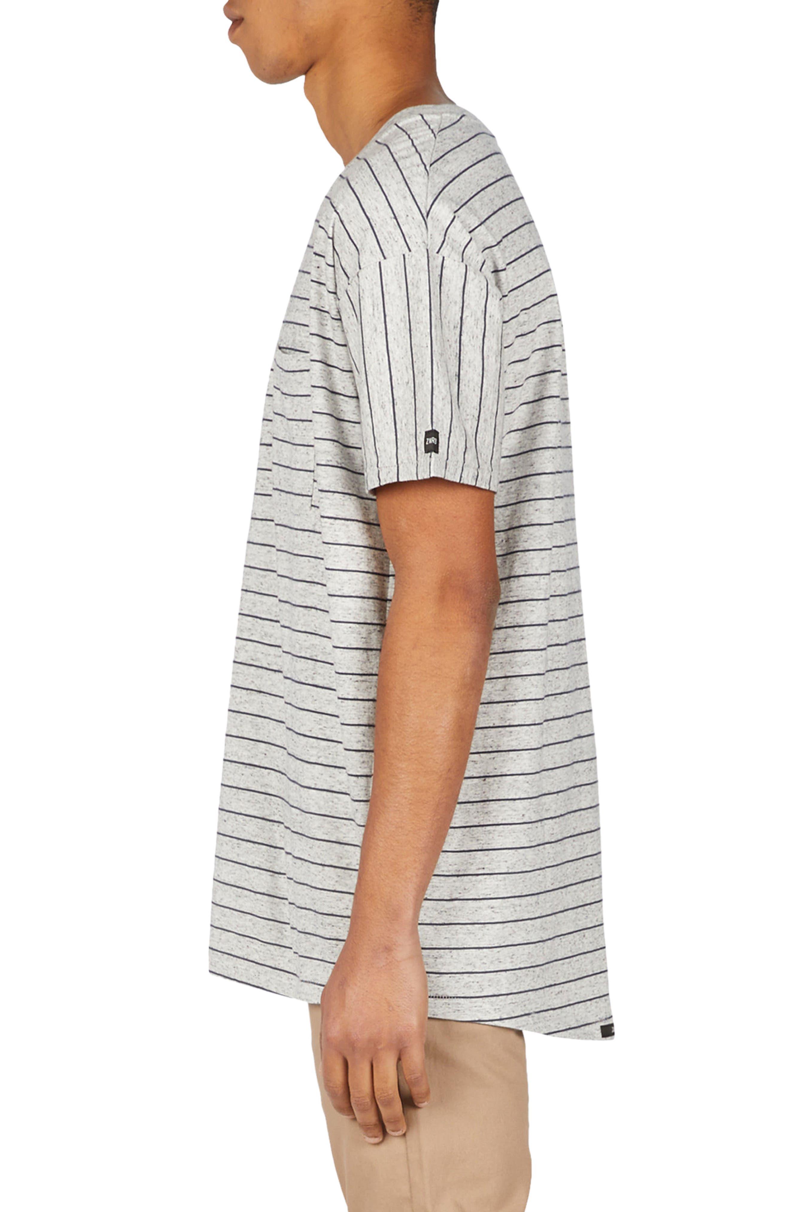 ZANEROBE,                             Stripe Rugger T-Shirt,                             Alternate thumbnail 3, color,                             050