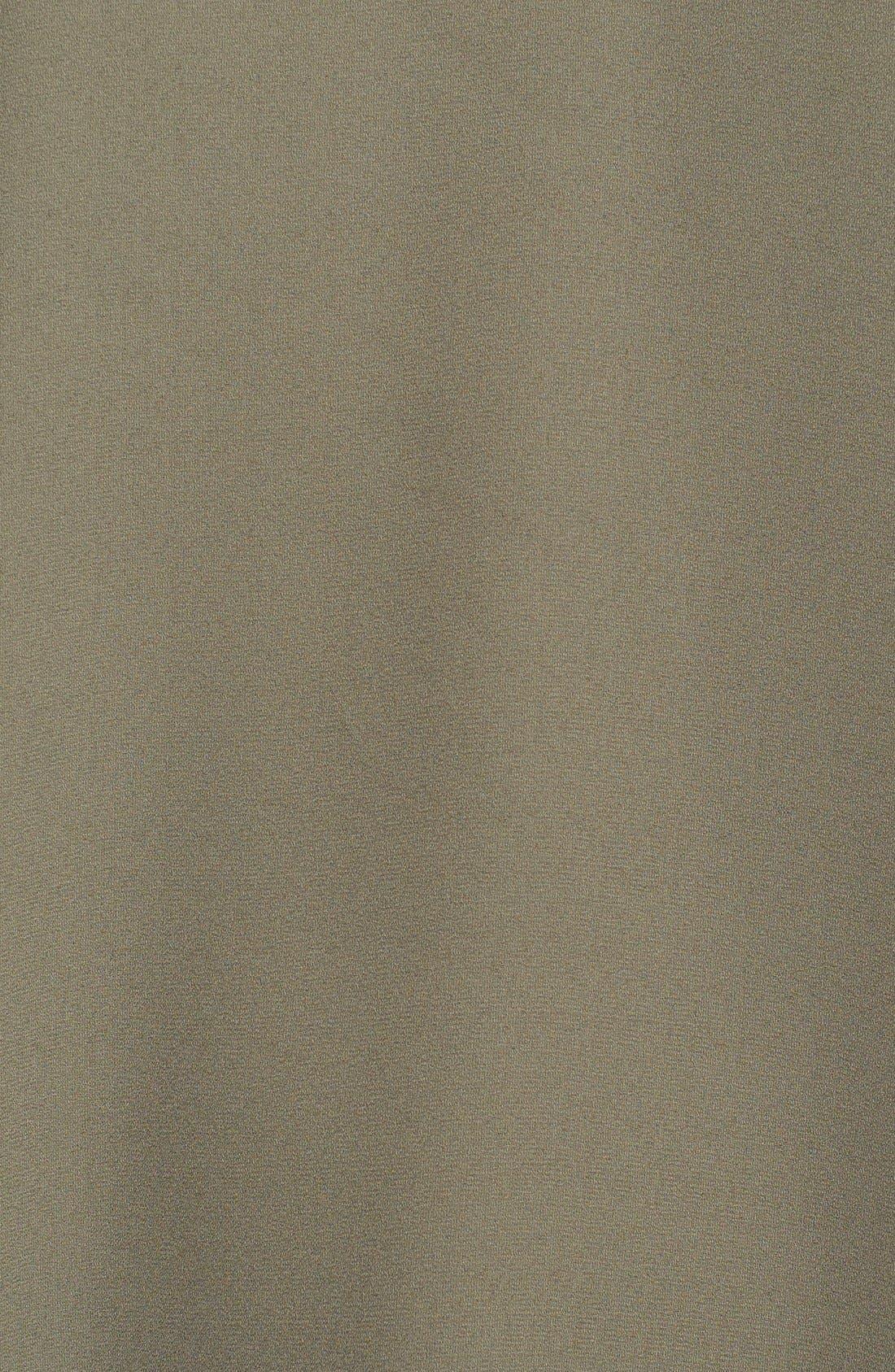 Cuff Sleeve Woven Tee,                             Alternate thumbnail 136, color,