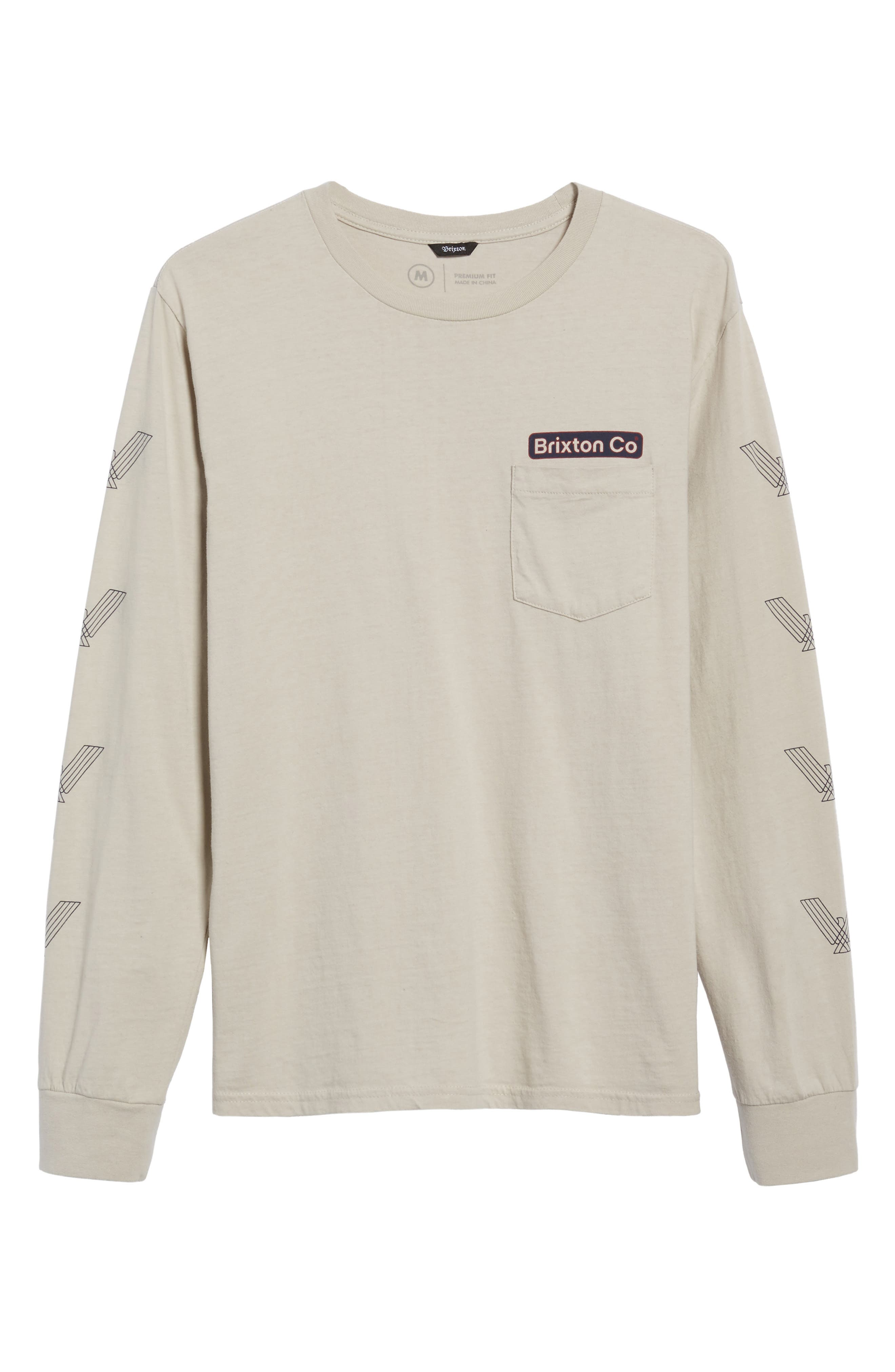 Maron Long Sleeve T-Shirt,                             Alternate thumbnail 6, color,                             020
