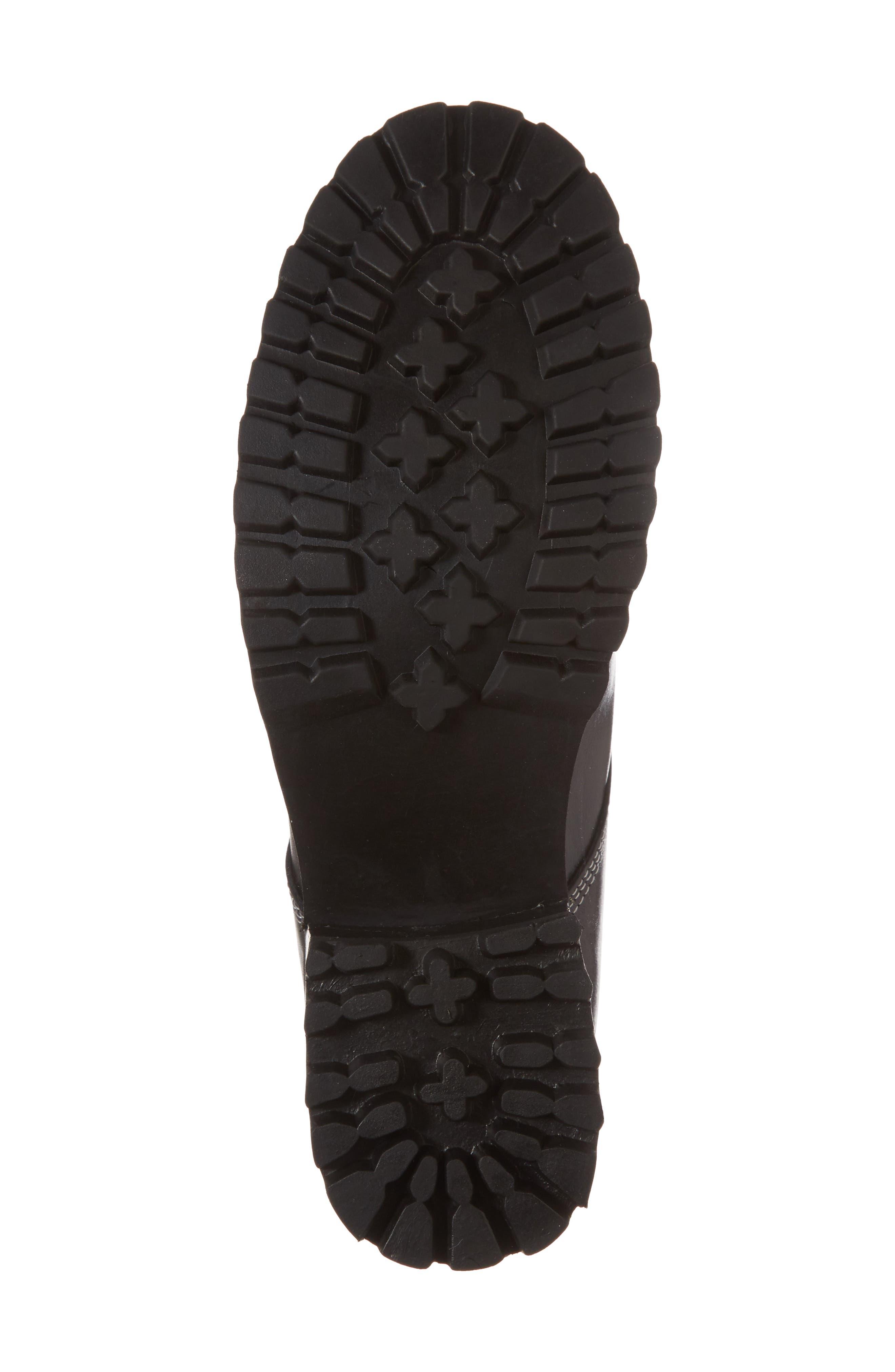 STEVE MADDEN,                             Granite Embellished Zip Boot,                             Alternate thumbnail 6, color,                             001