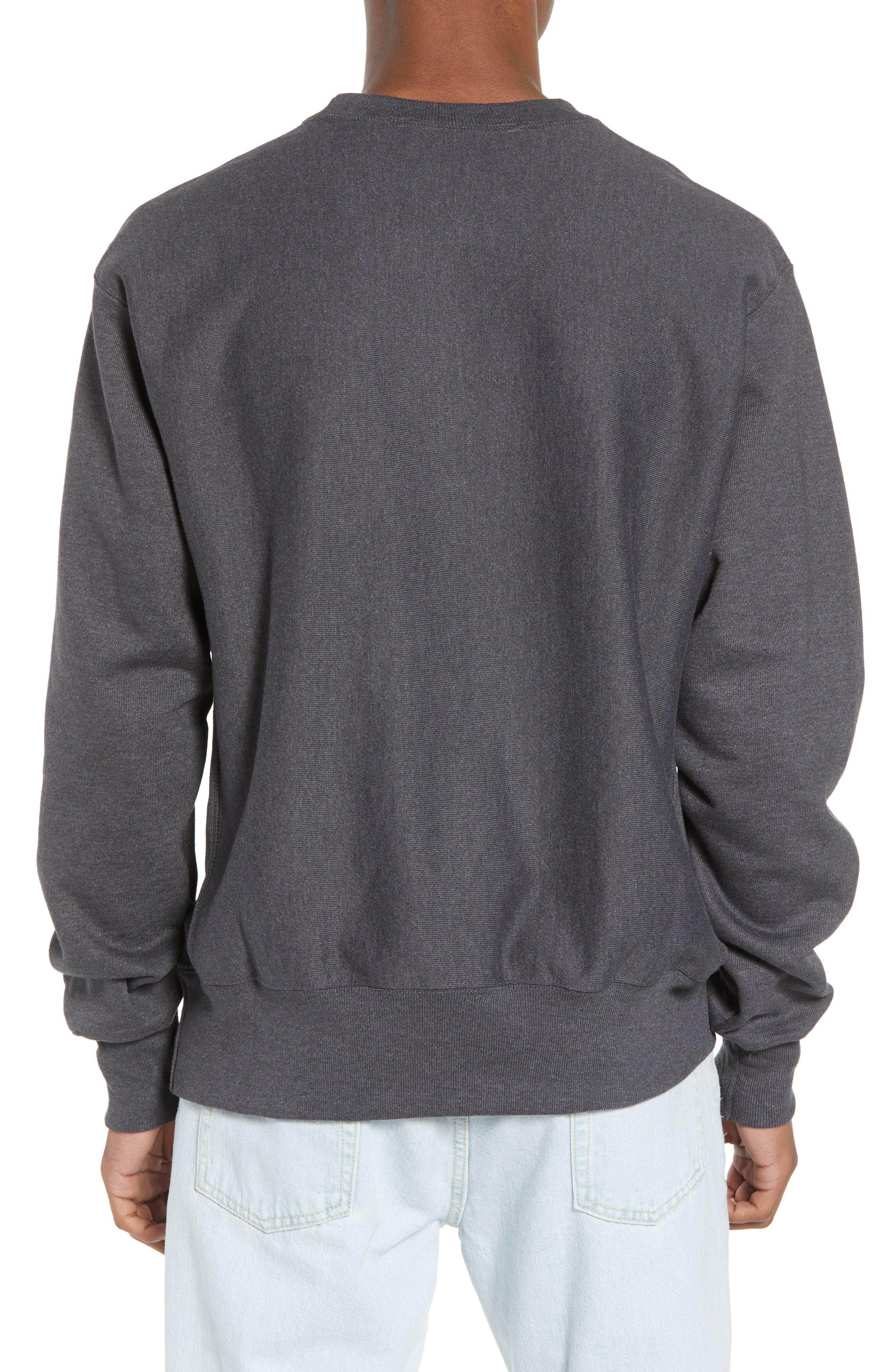 Reverse Weave Sweatshirt,                             Alternate thumbnail 9, color,