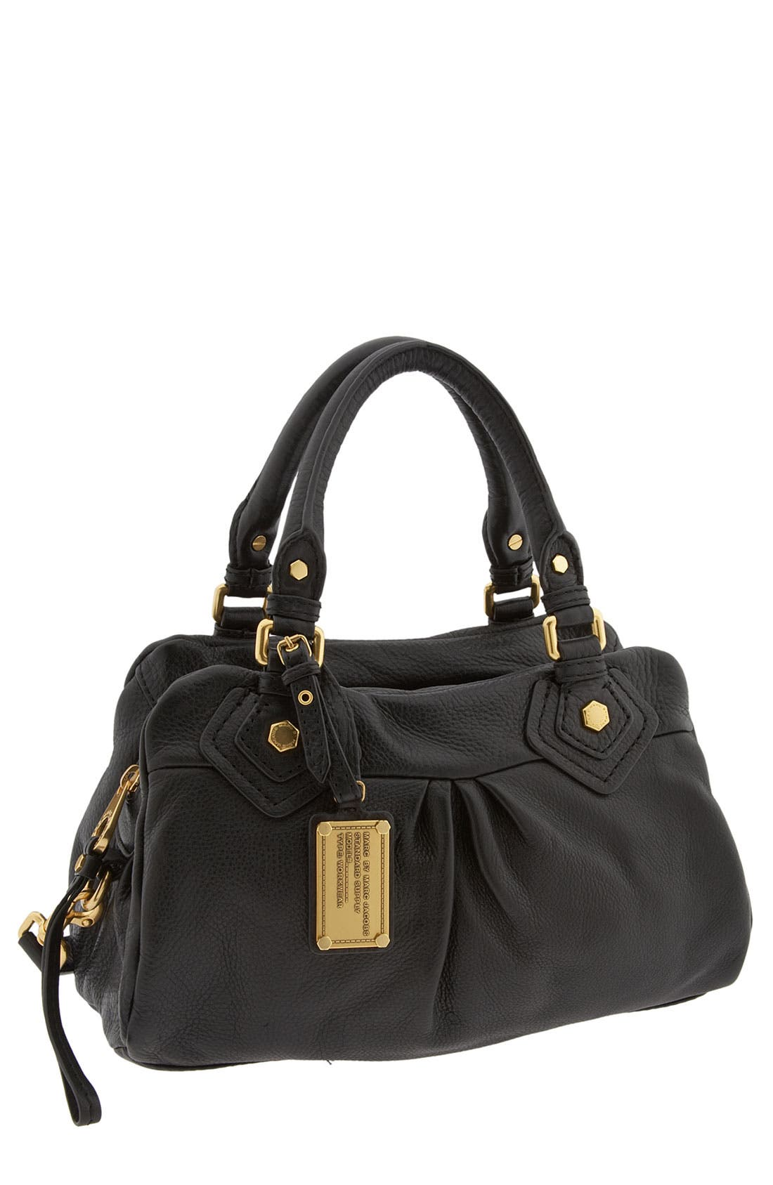 MARC BY MARC JACOBS 'Classic Q - Baby Groovee' Satchel,                         Main,                         color, 001