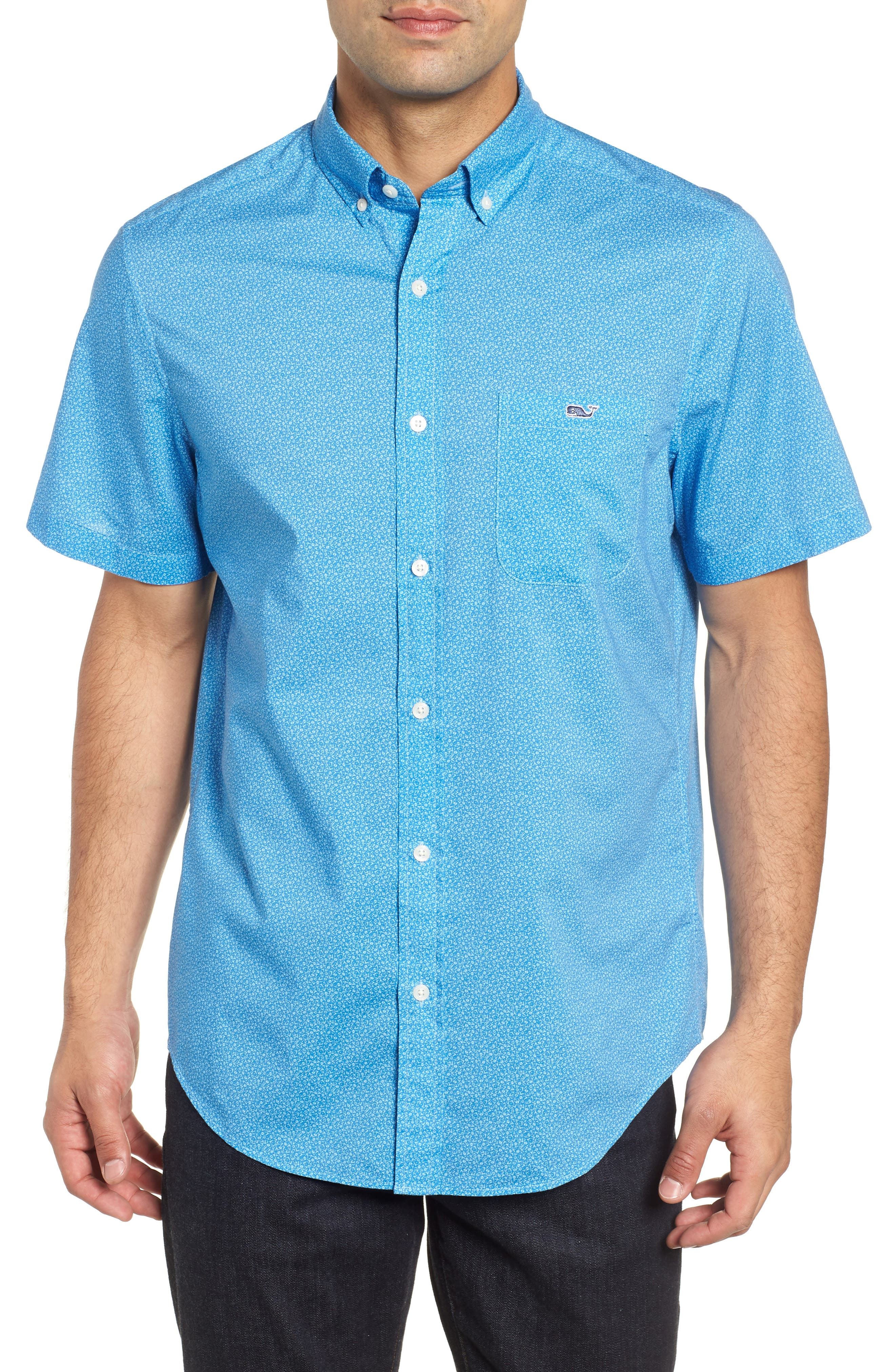Seagulls Tucker Slim Fit Sport Shirt,                             Main thumbnail 1, color,                             400
