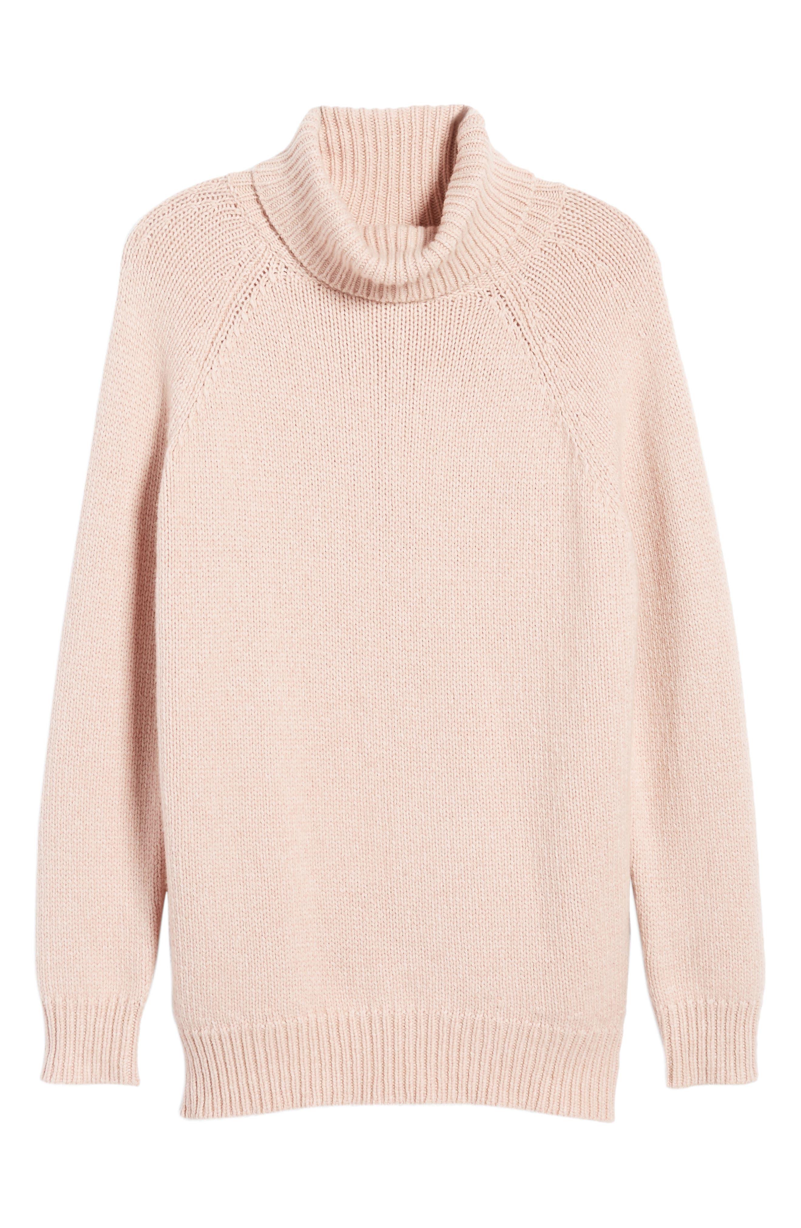 Textured Turtleneck Sweater,                             Alternate thumbnail 12, color,