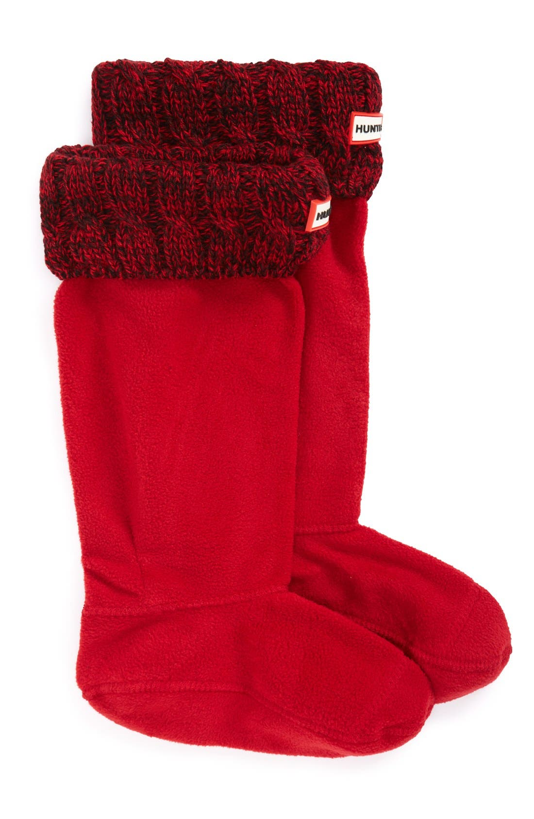 Original Tall Cable Knit Cuff Welly Boot Socks,                             Main thumbnail 10, color,
