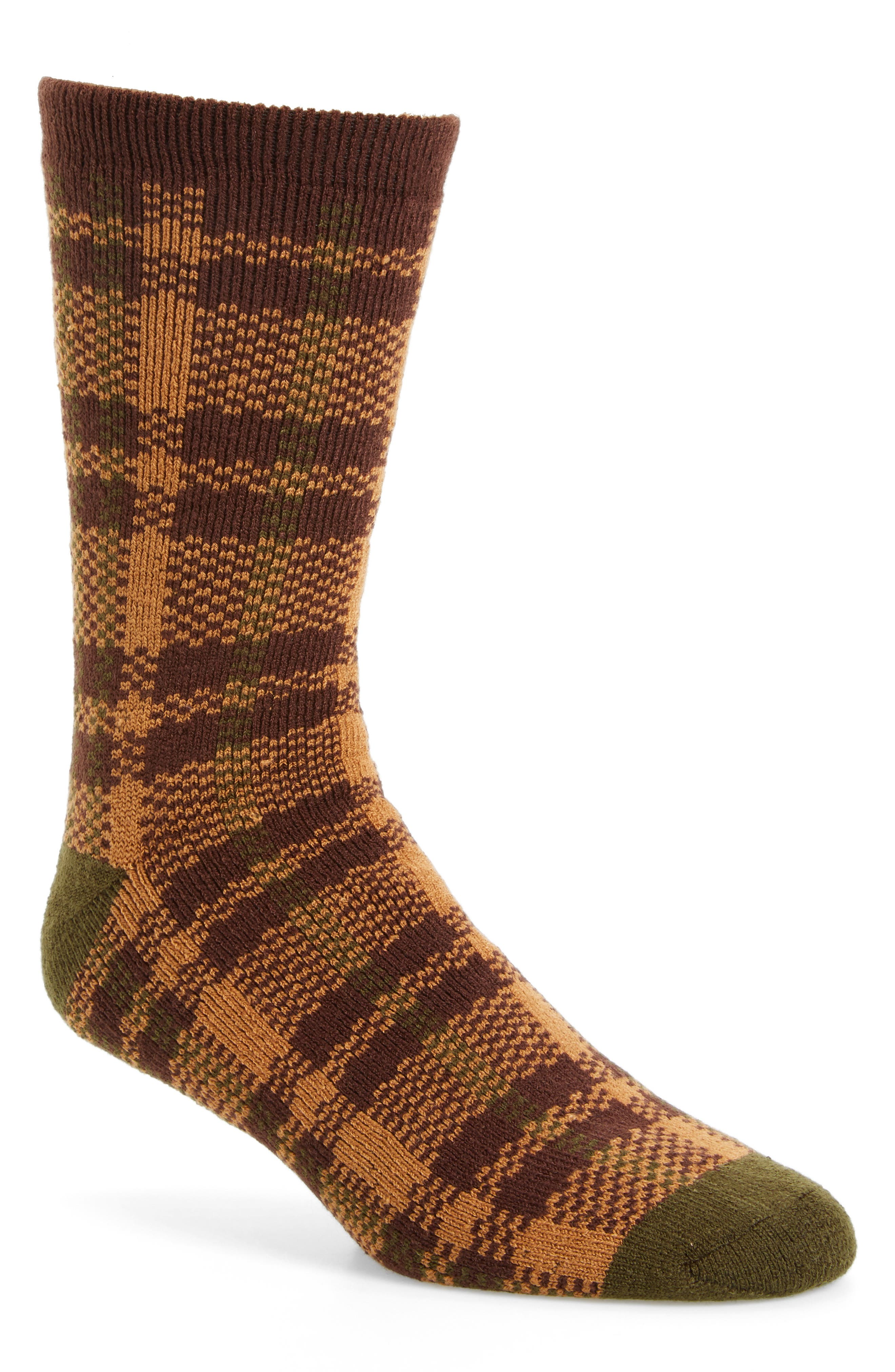 Plaid Socks,                             Main thumbnail 2, color,