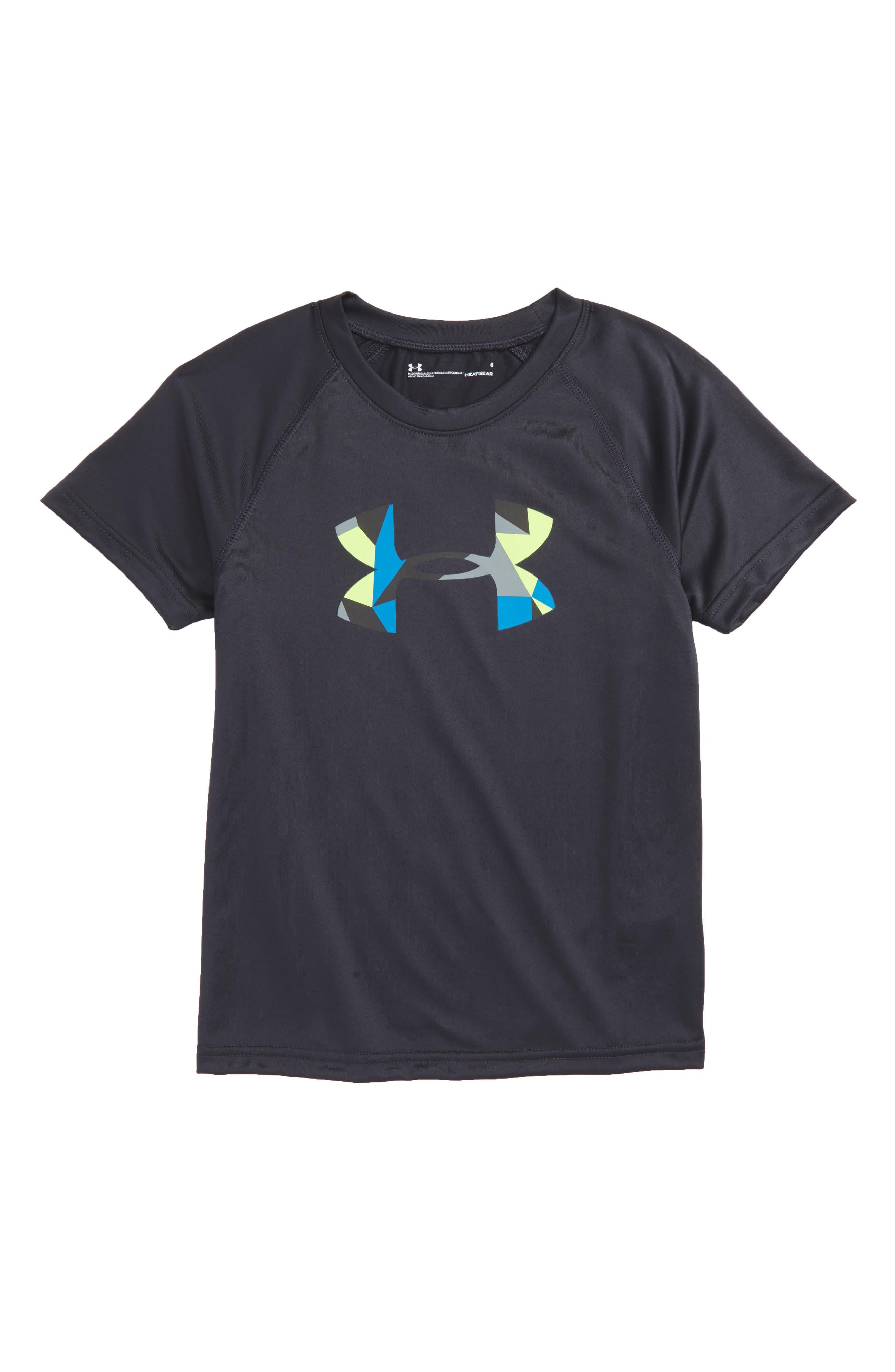 Geo Cache Graphic HeatGear<sup>®</sup> T-Shirt,                             Main thumbnail 1, color,
