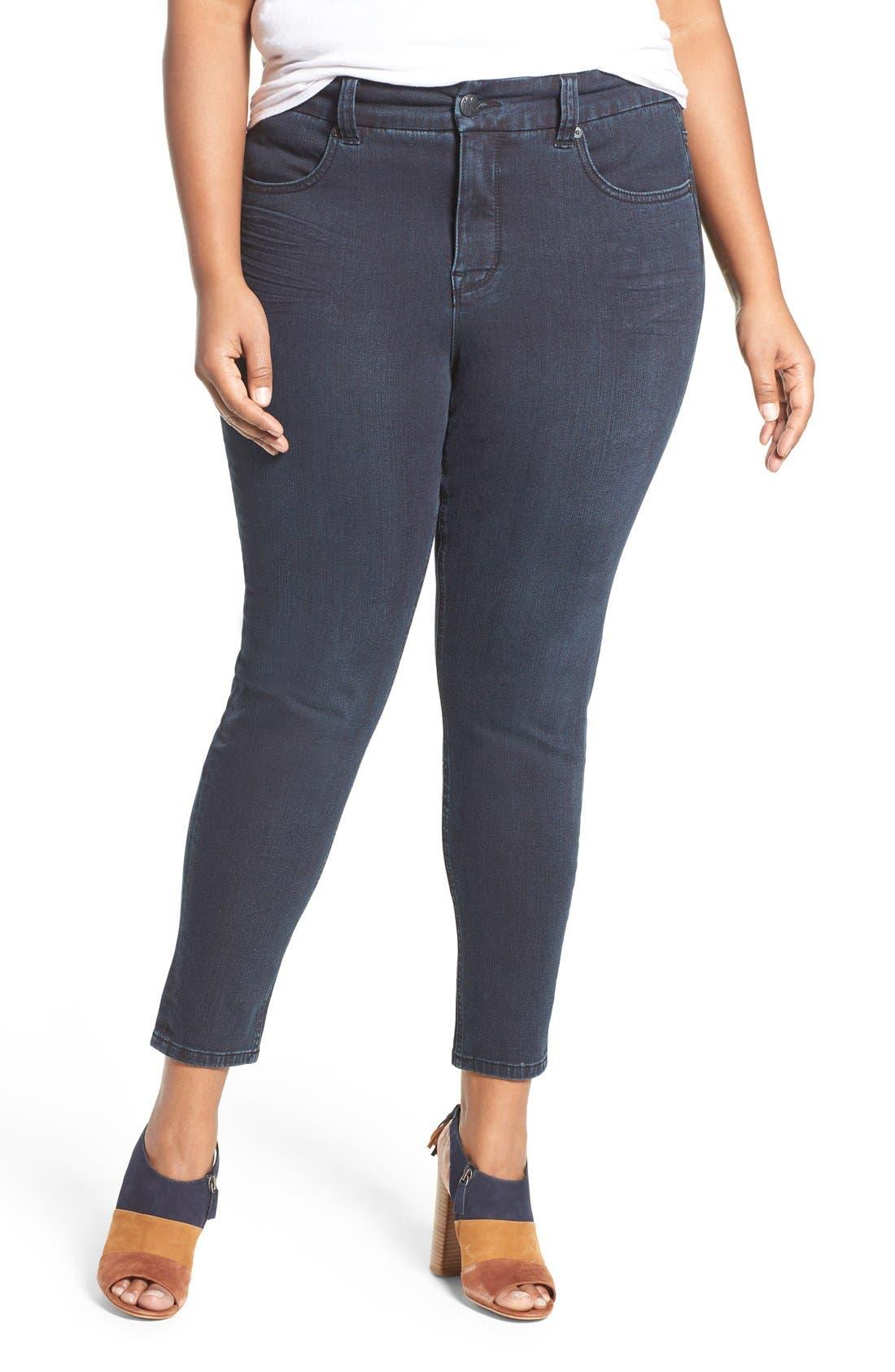 Pencil Leg Jeans,                             Main thumbnail 1, color,                             418