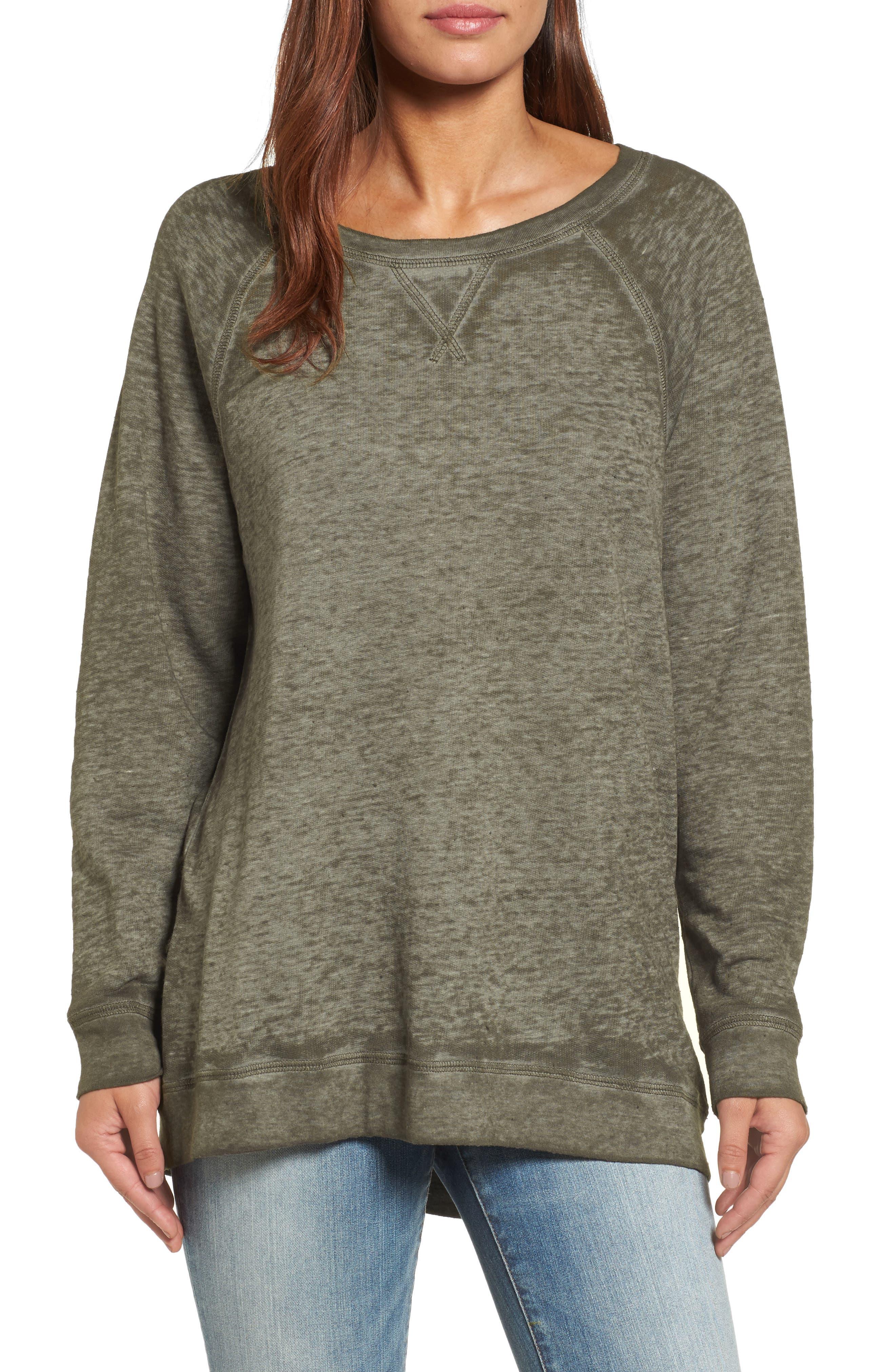 Burnout Sweatshirt,                             Alternate thumbnail 25, color,