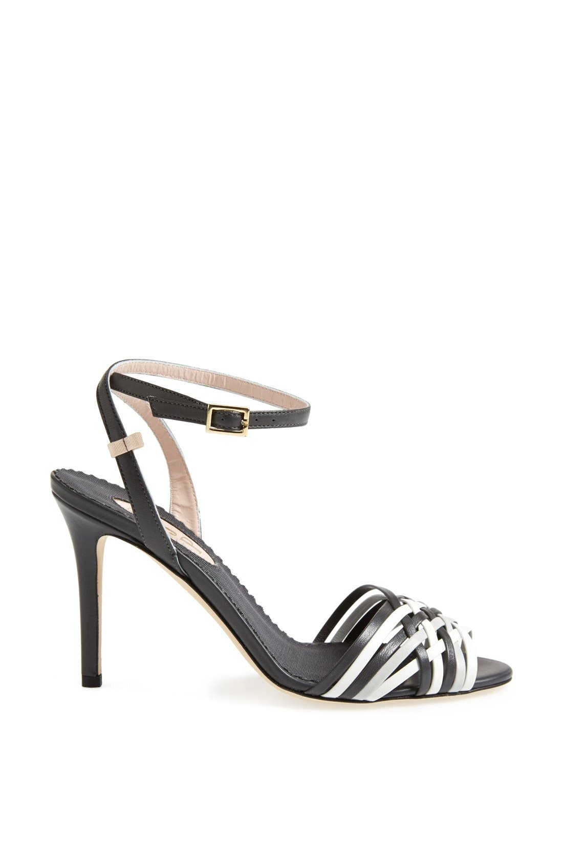 SJP 'Maud' Sandal,                             Alternate thumbnail 2, color,                             001