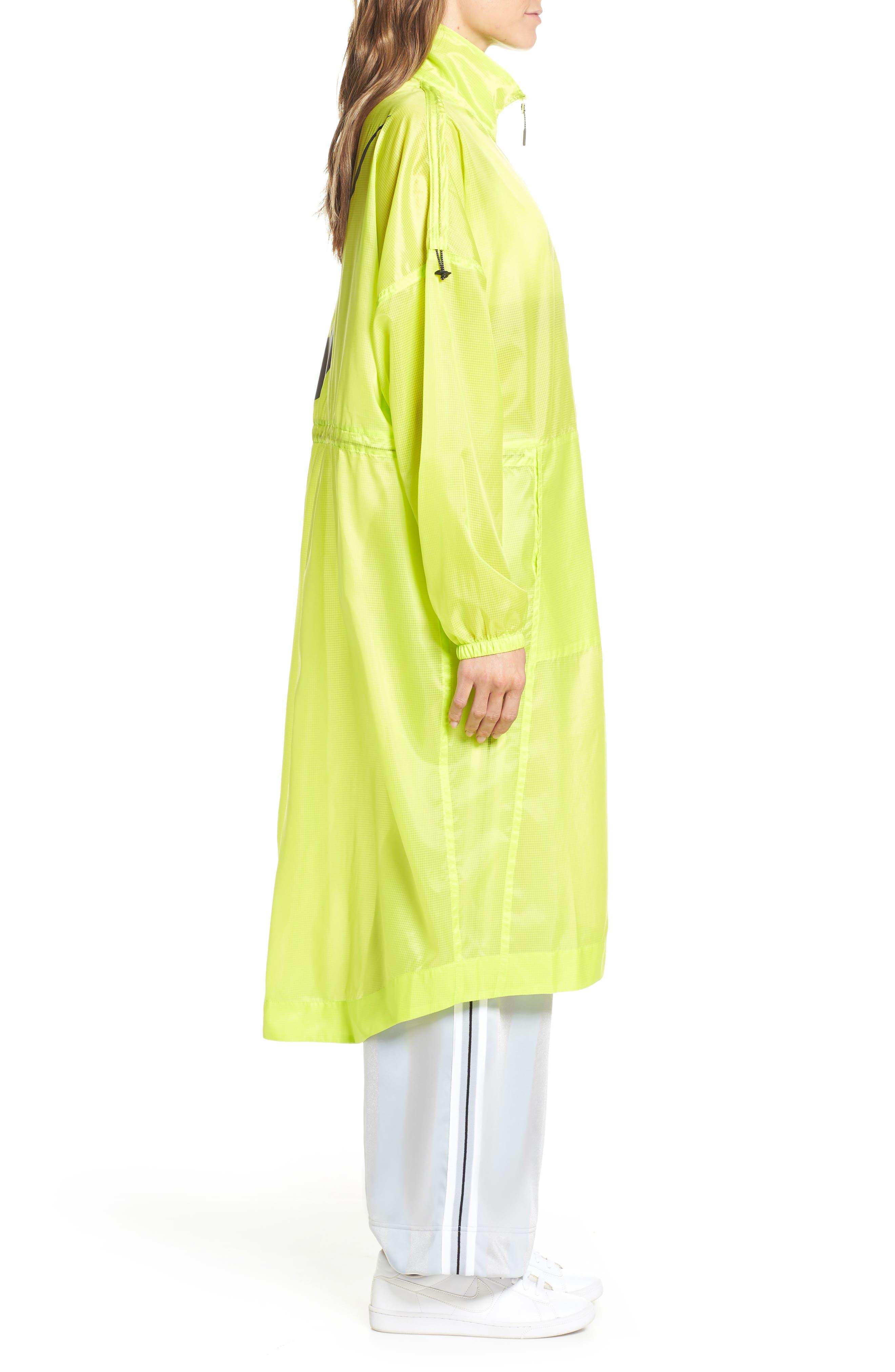 NIKE,                             Sportswear Women's Woven Jacket,                             Alternate thumbnail 3, color,                             CYBER/ BLACK