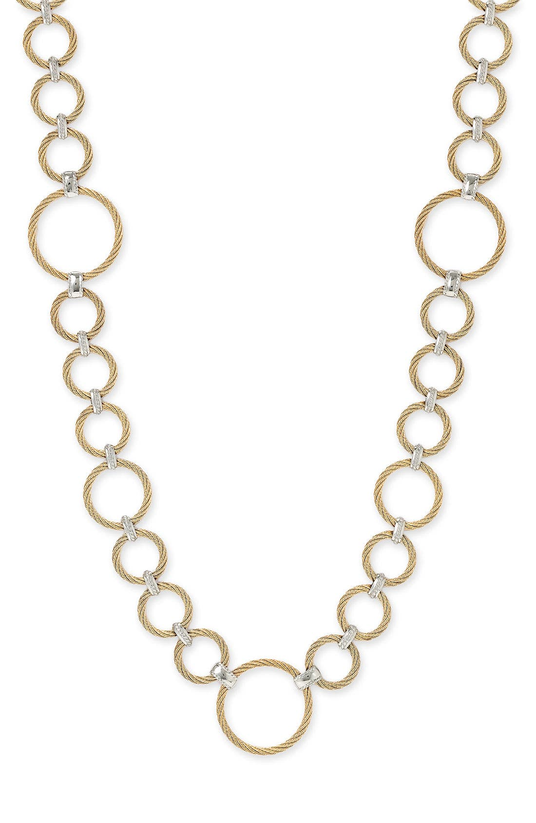 Long Link Necklace,                         Main,                         color, 710