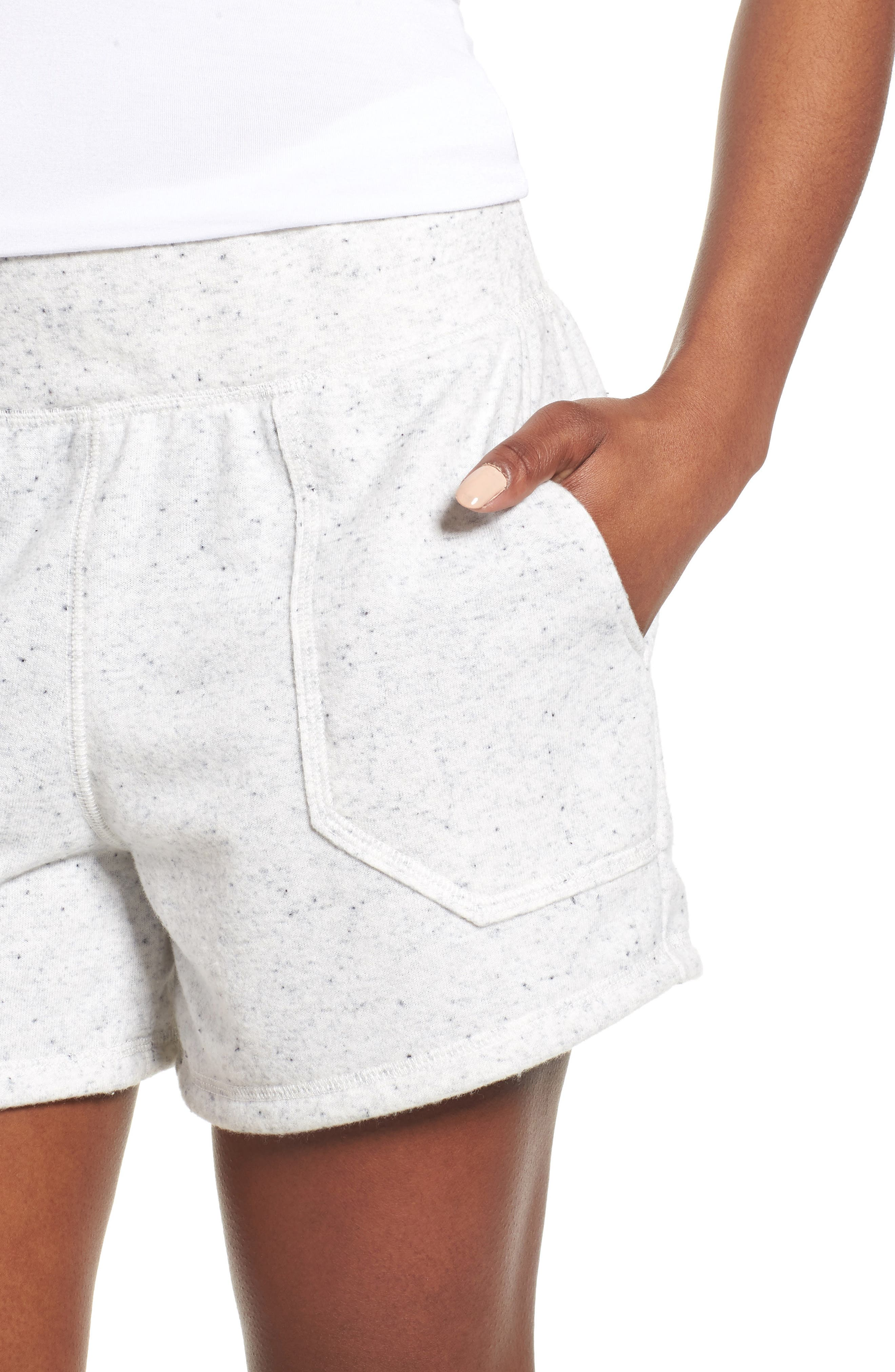 Off-Duty French Terry Shorts,                             Alternate thumbnail 18, color,