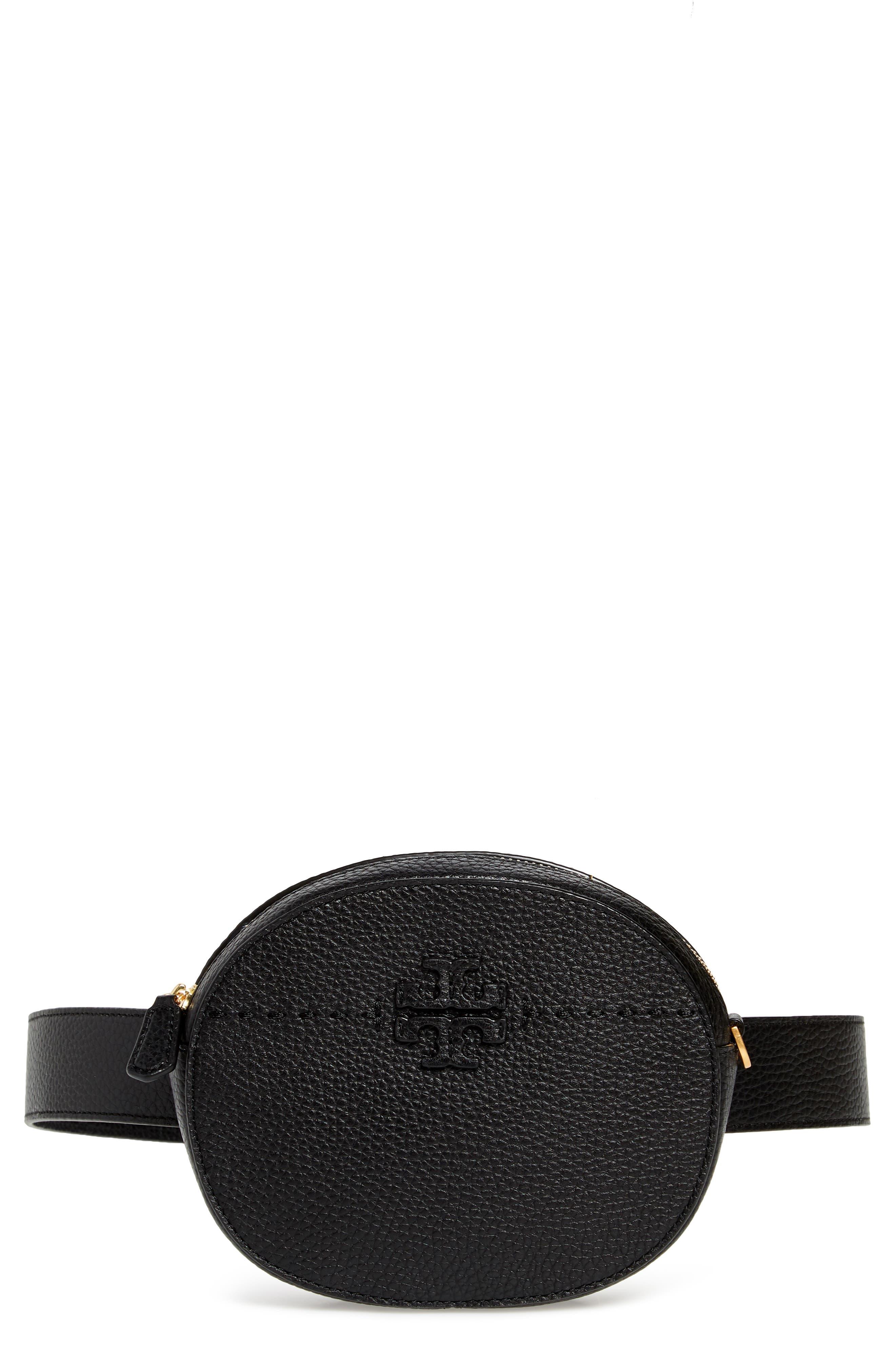 McGraw Leather Belt/Crossbody Bag, Main, color, 001