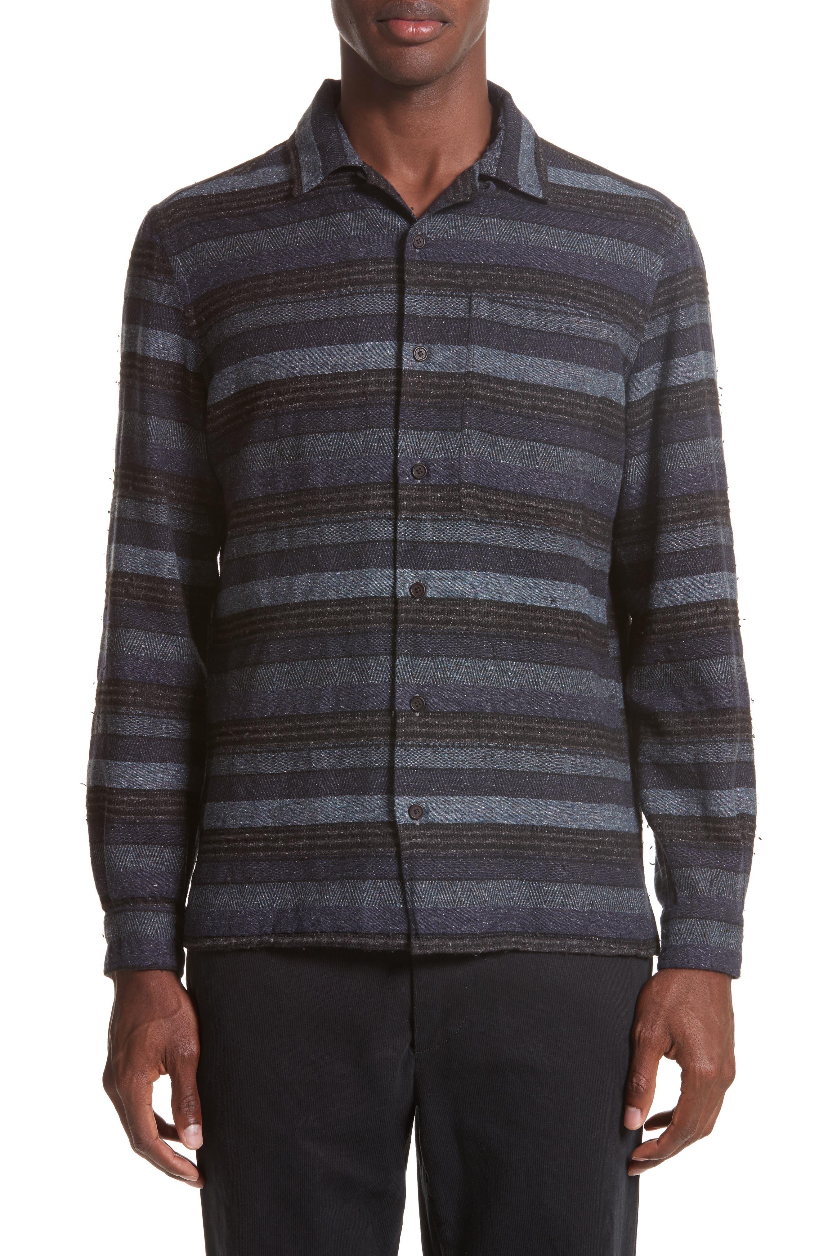 Napoli Mix Stripe Shirt,                             Main thumbnail 1, color,                             461