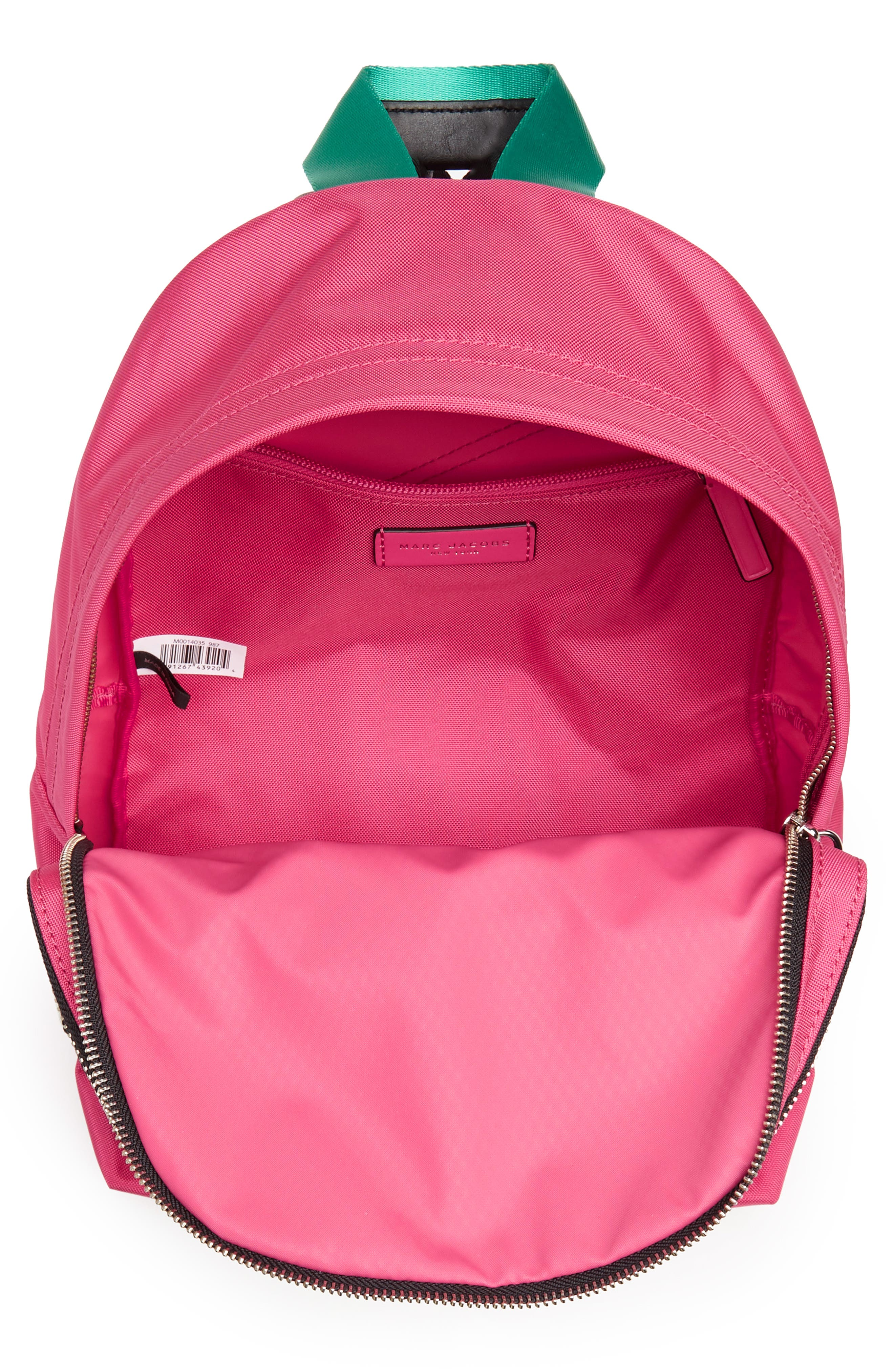 Medium Sport Trek Backpack,                             Alternate thumbnail 4, color,                             PEONY