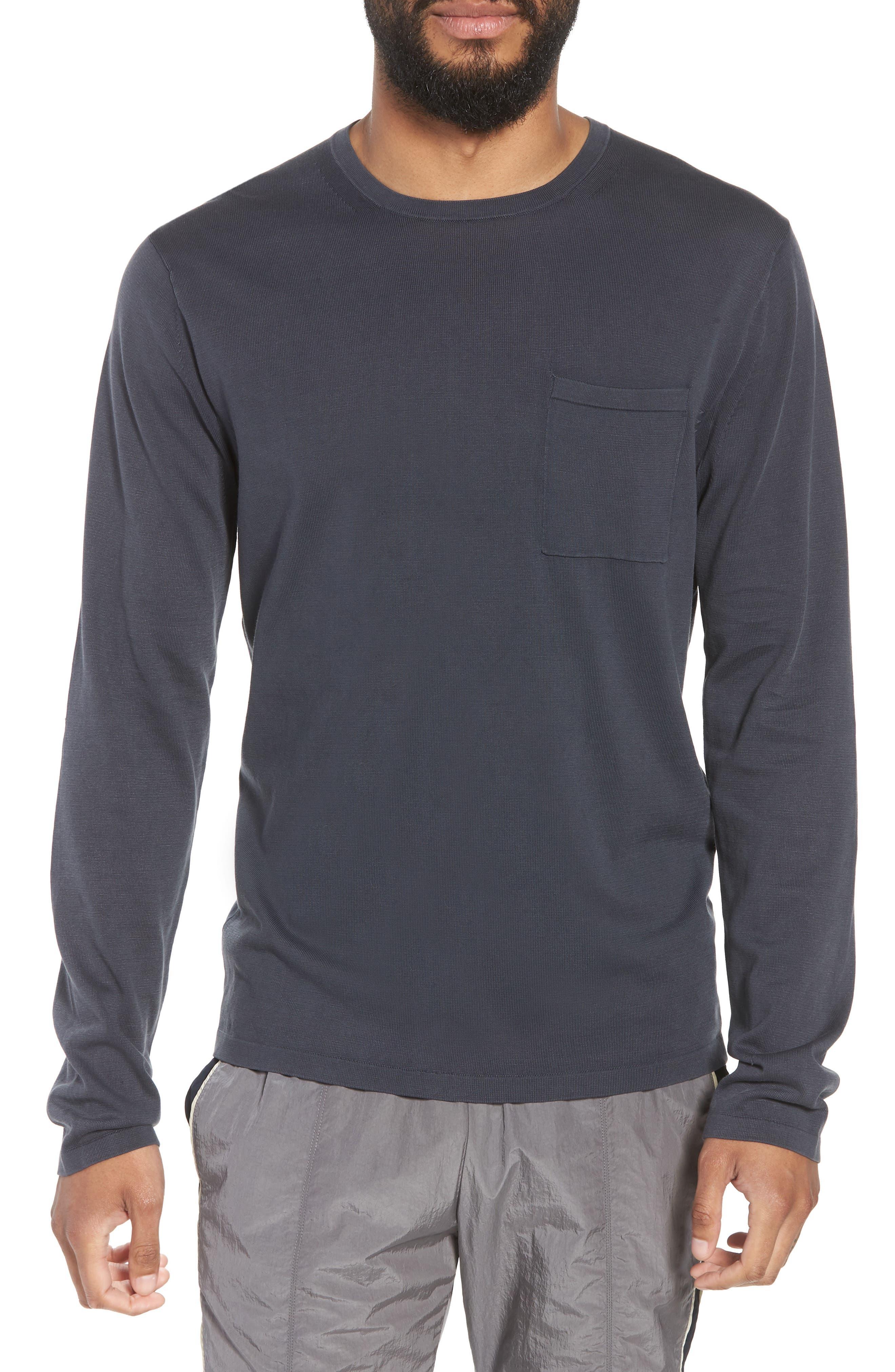 Crewneck Cotton Sweater,                             Main thumbnail 1, color,                             061