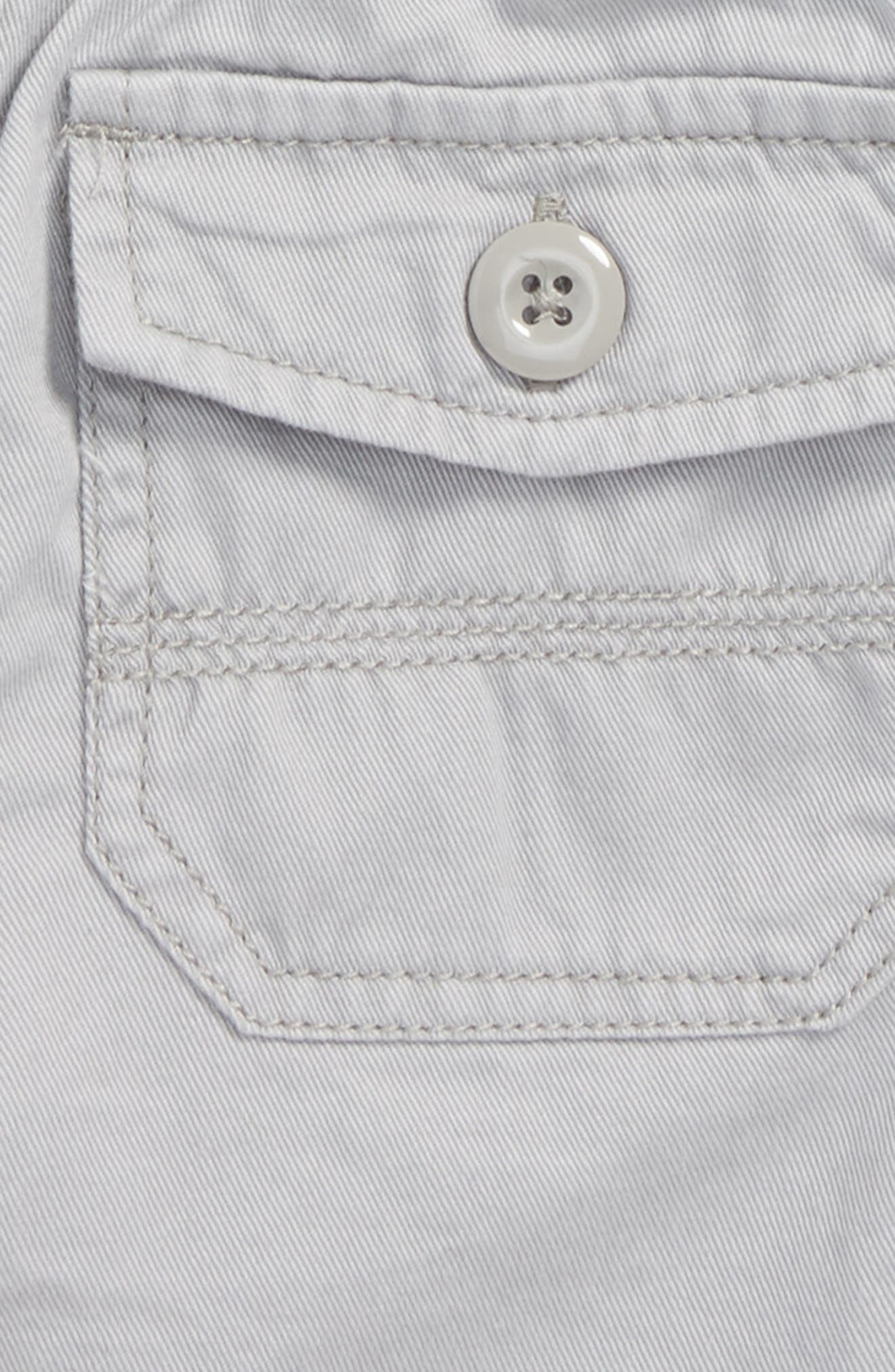 Easy Does It Twill Shorts,                             Alternate thumbnail 3, color,                             052