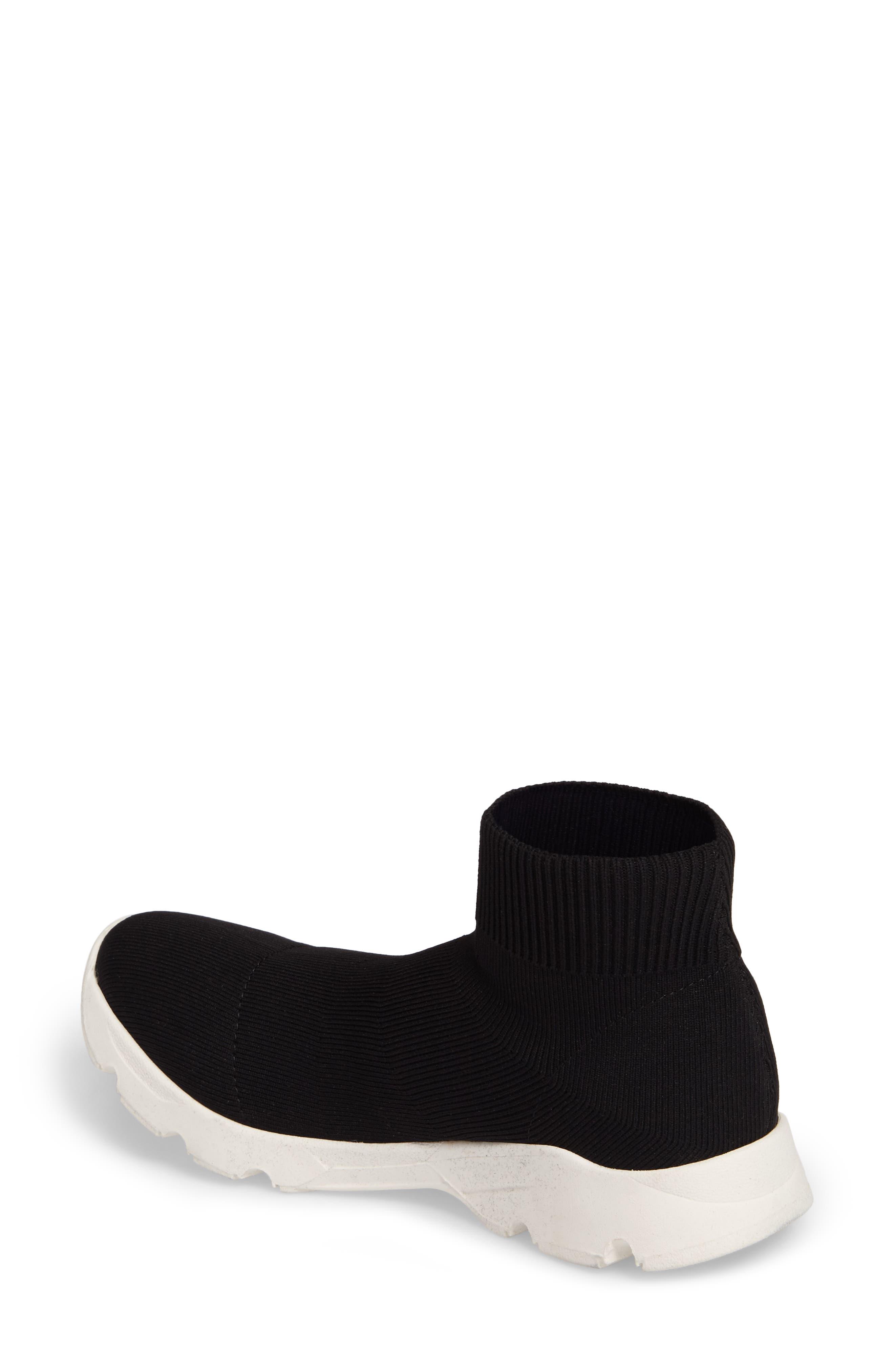 Winston Knit High Top Sneaker,                             Alternate thumbnail 2, color,                             001