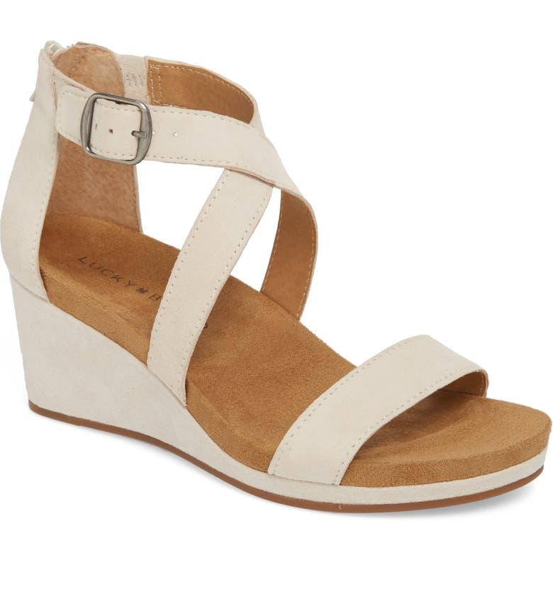 c385b4b86979 Lucky Brand Kenadee Wedge Sandal (Women)