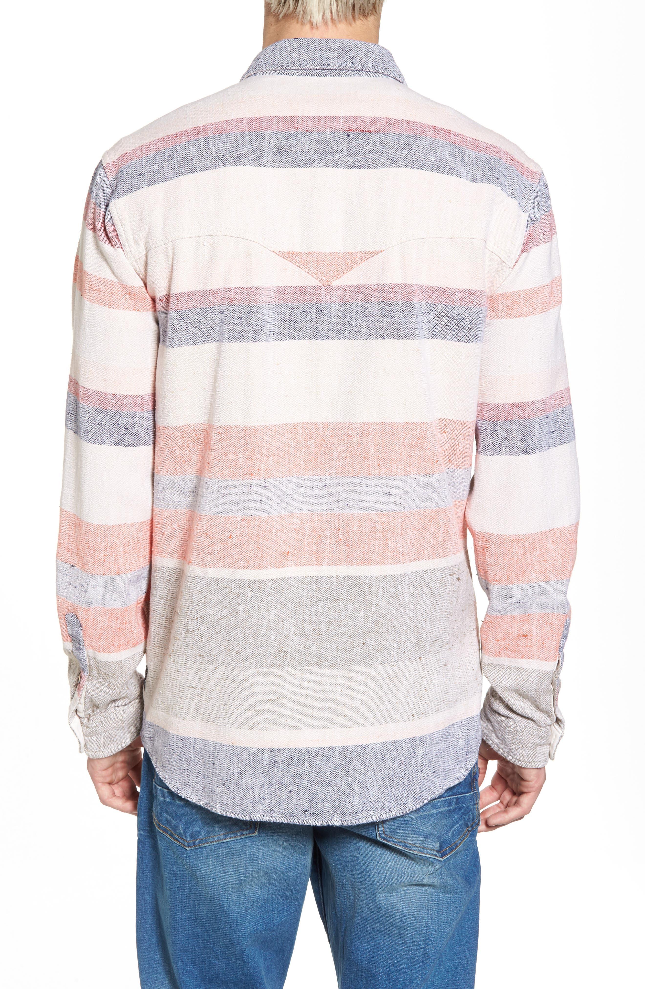 Amsterdams Summery Chunk Shirt,                             Alternate thumbnail 2, color,                             020