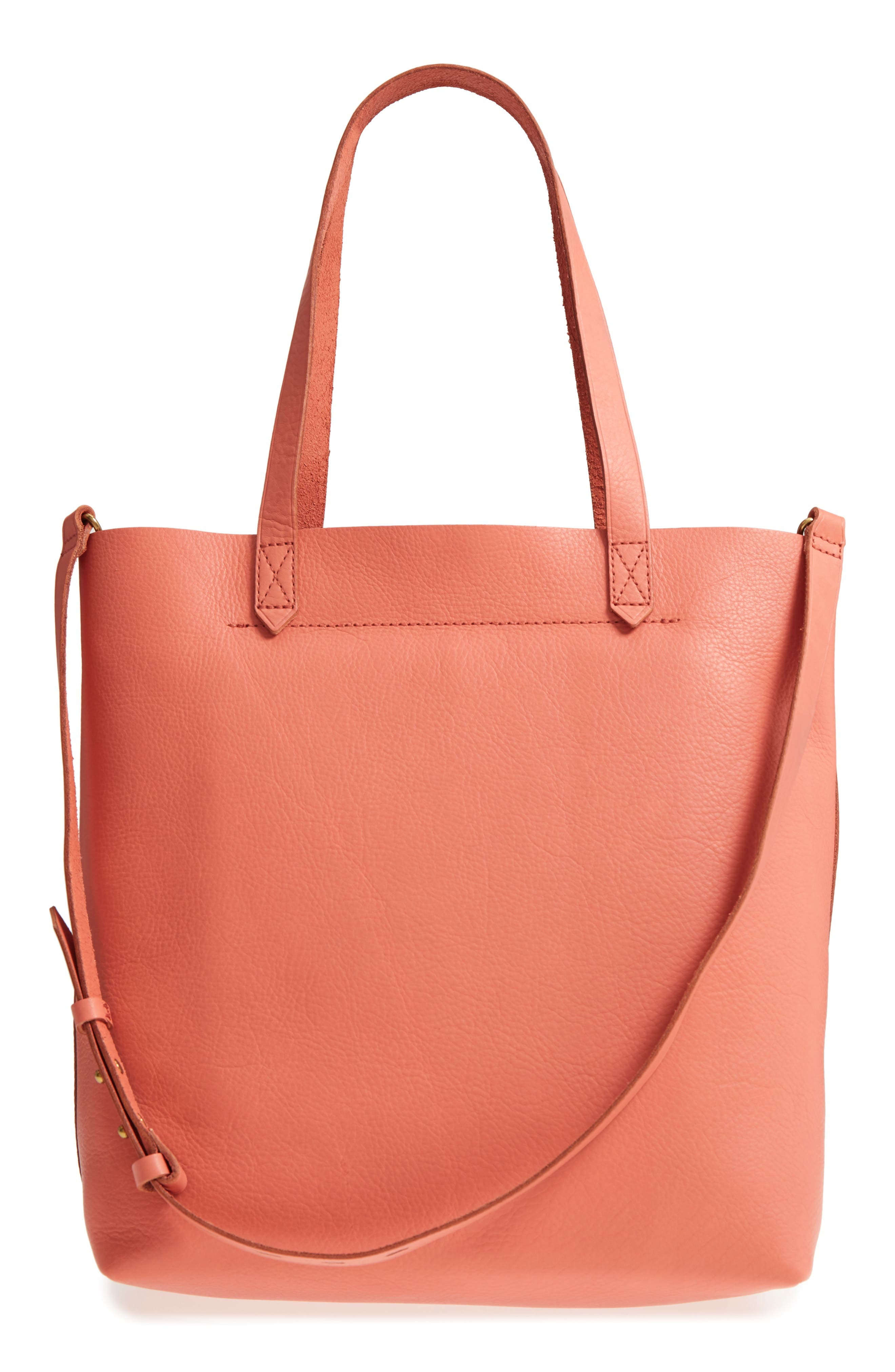 Medium Leather Transport Tote,                             Alternate thumbnail 40, color,