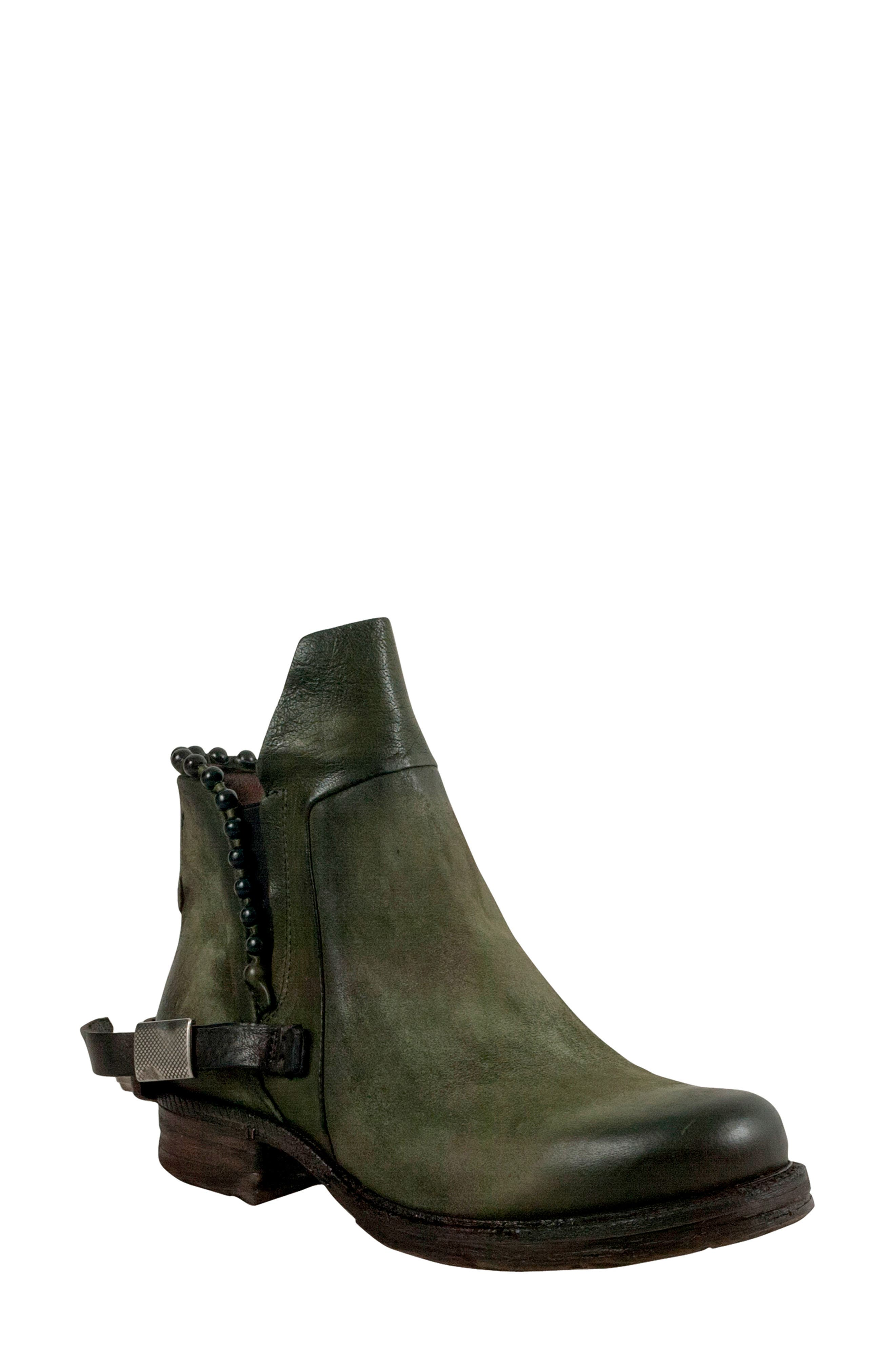 A.S.98 Slade Bootie in Green