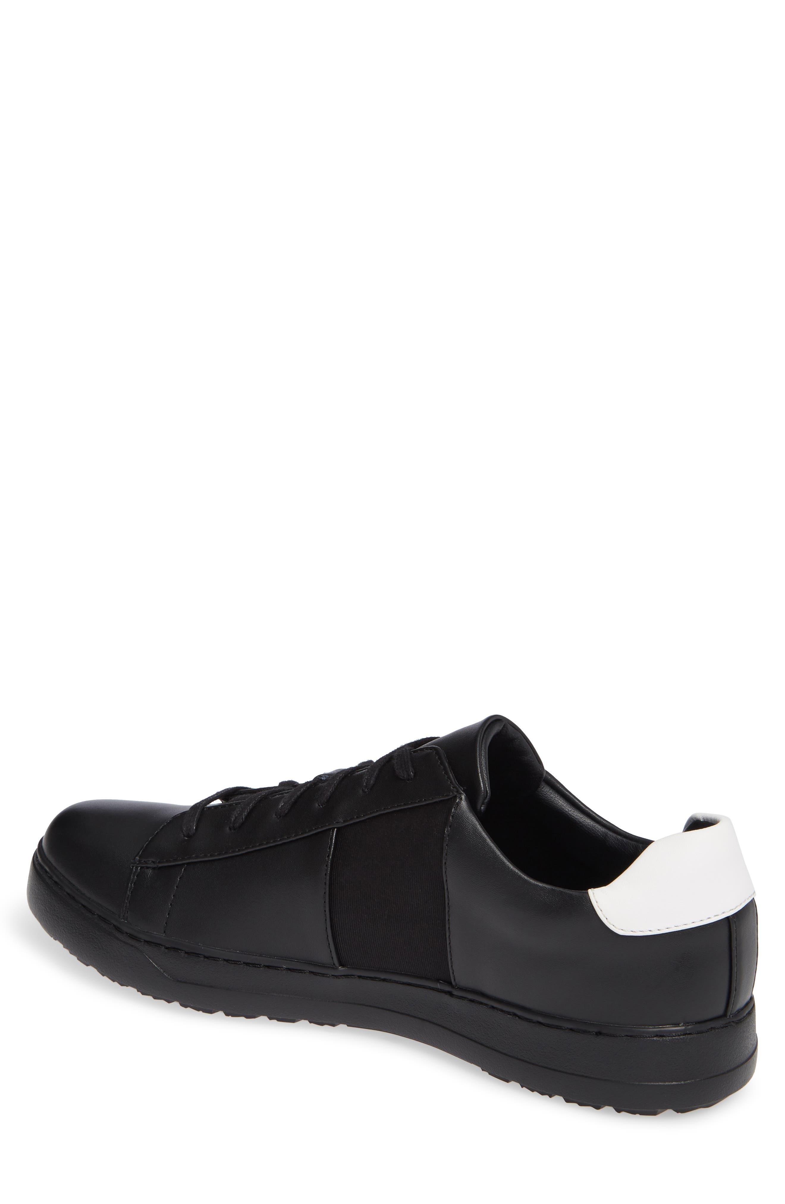 Sammy 2 Sneaker,                             Alternate thumbnail 2, color,                             BLACK LEATHER