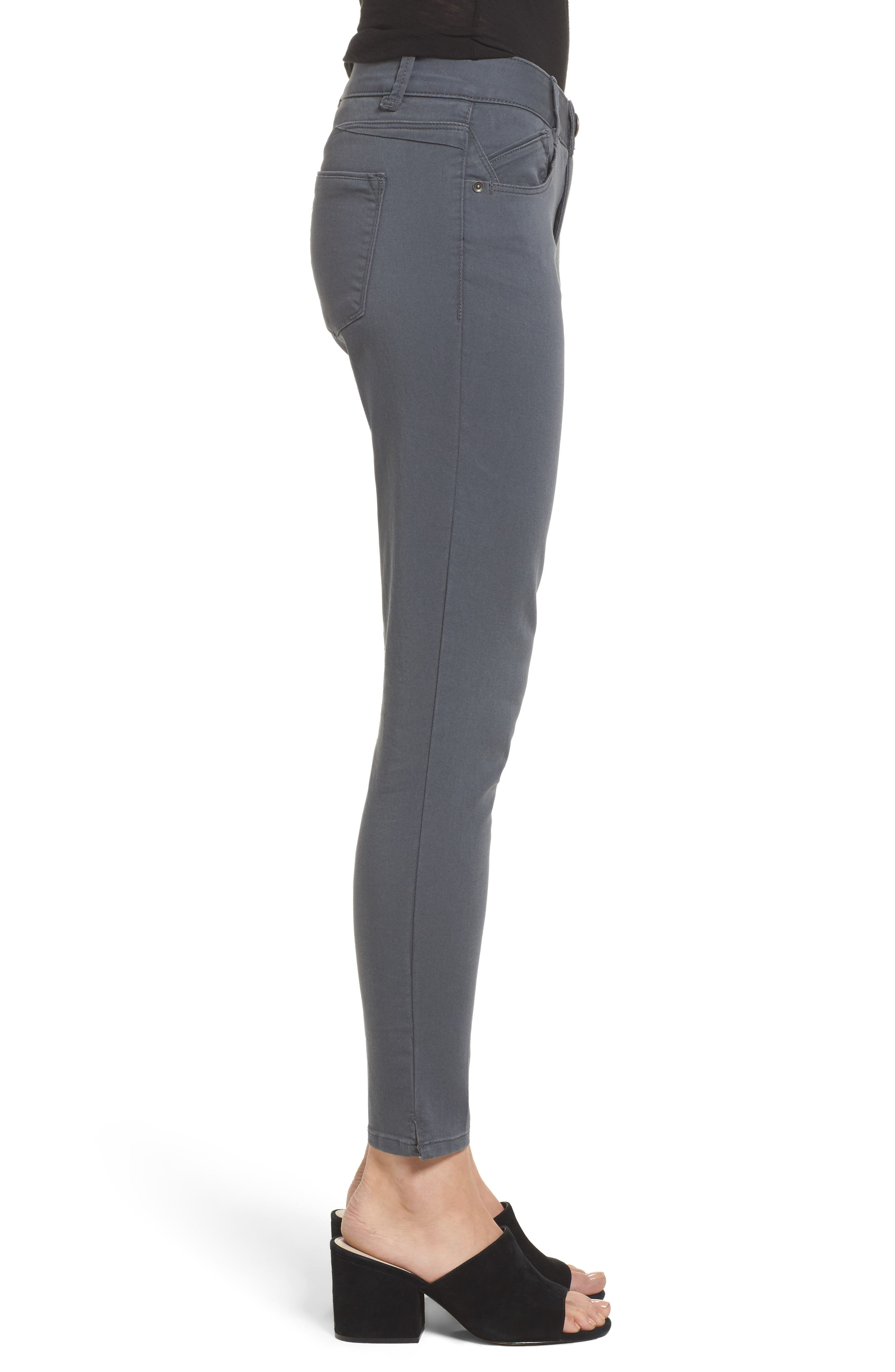 Ab-solution Stretch Twill Skinny Pants,                             Alternate thumbnail 3, color,                             050