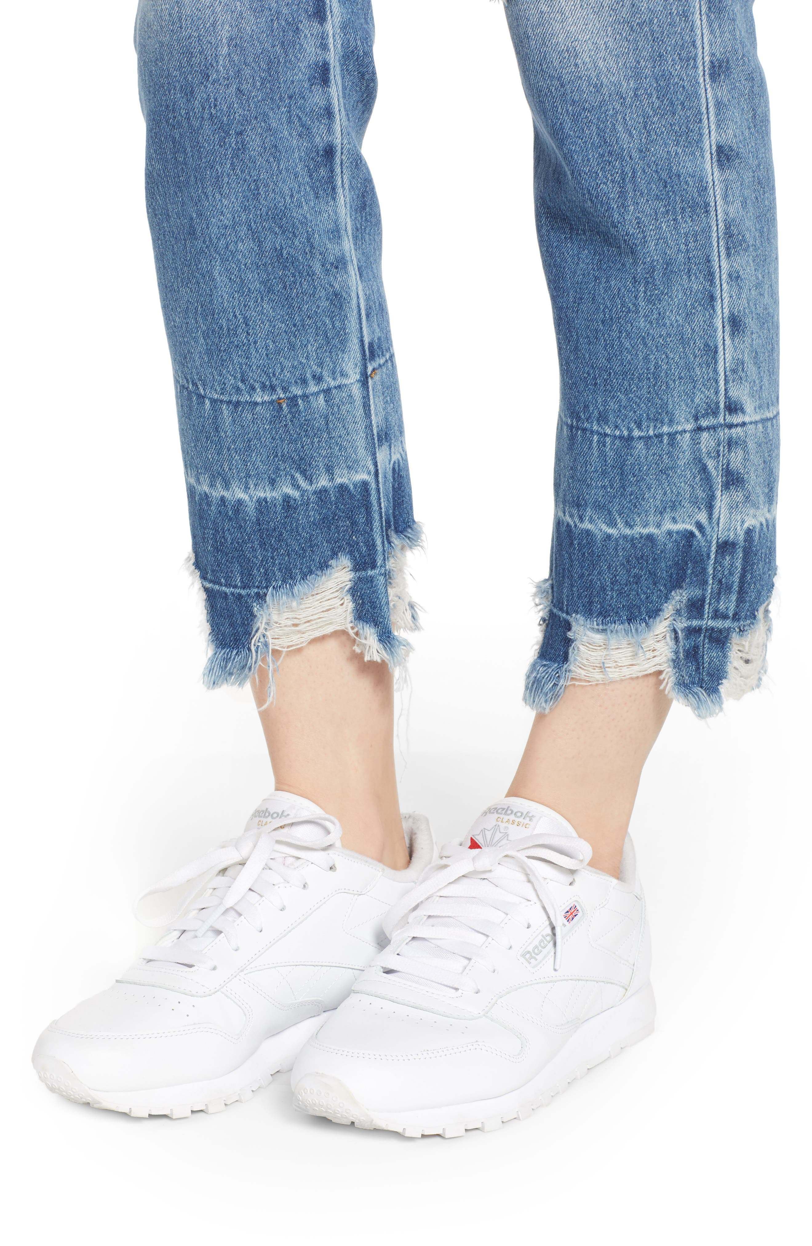 HUDSON JEANS,                             Jessi Ripped Boyfriend Jeans,                             Alternate thumbnail 4, color,                             OVERSHADOW