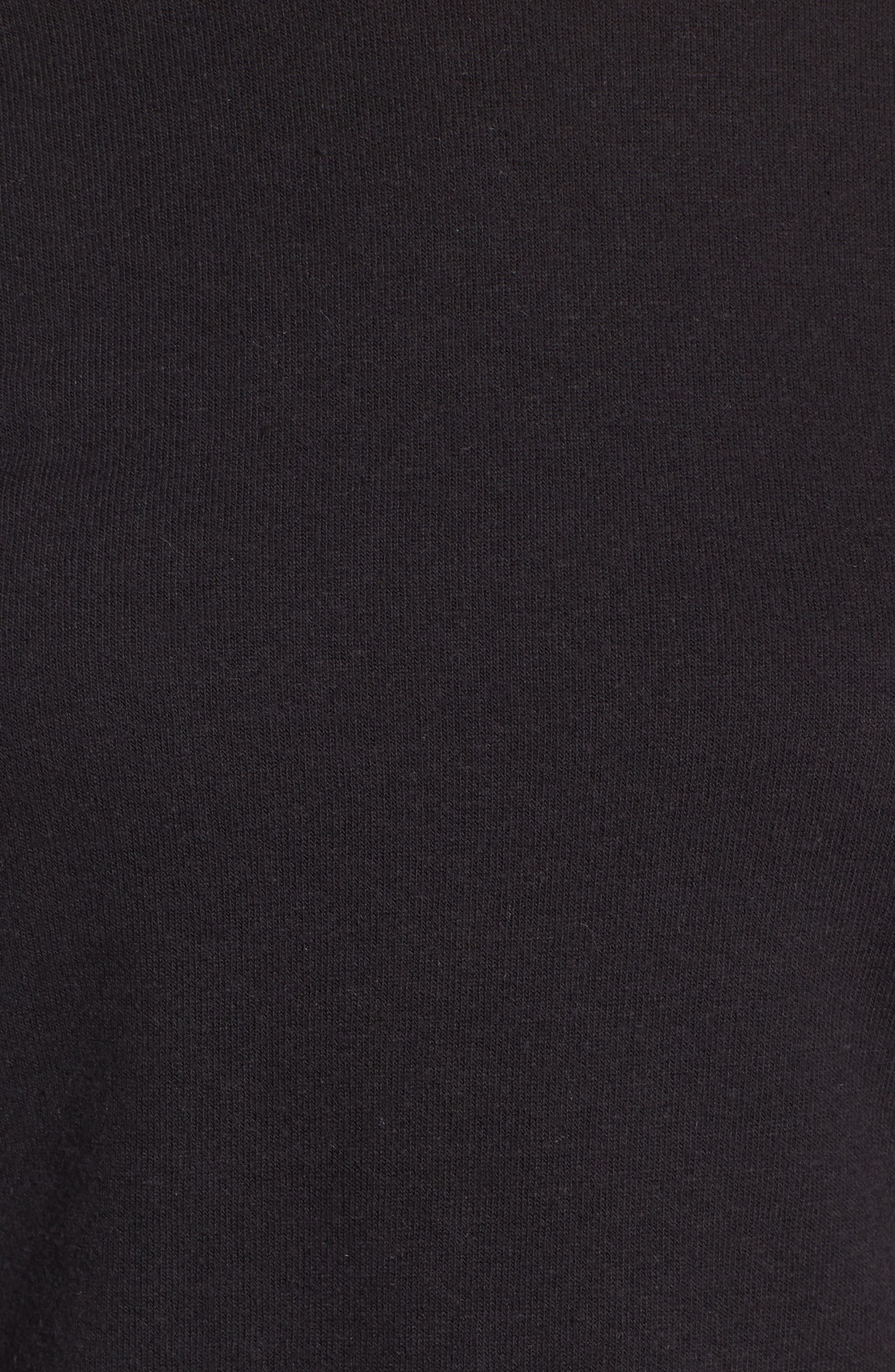 TREASURE & BOND,                             Wide Sleeve Sweatshirt,                             Alternate thumbnail 5, color,                             001