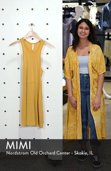 Iris Racerback Dress, sales video thumbnail