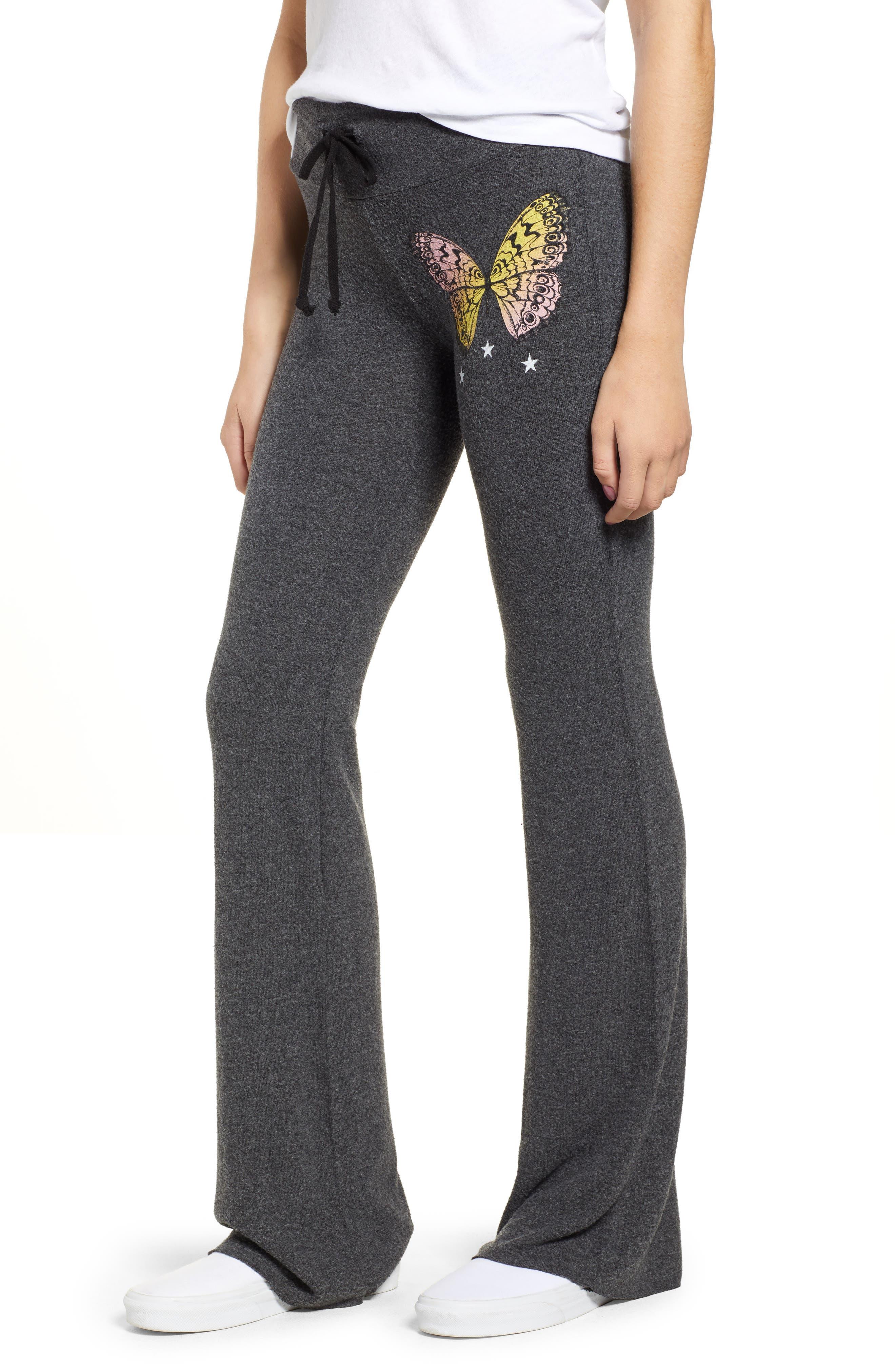 Papillon Tennis Club Fleece Pants,                         Main,                         color, CLEAN BLACK
