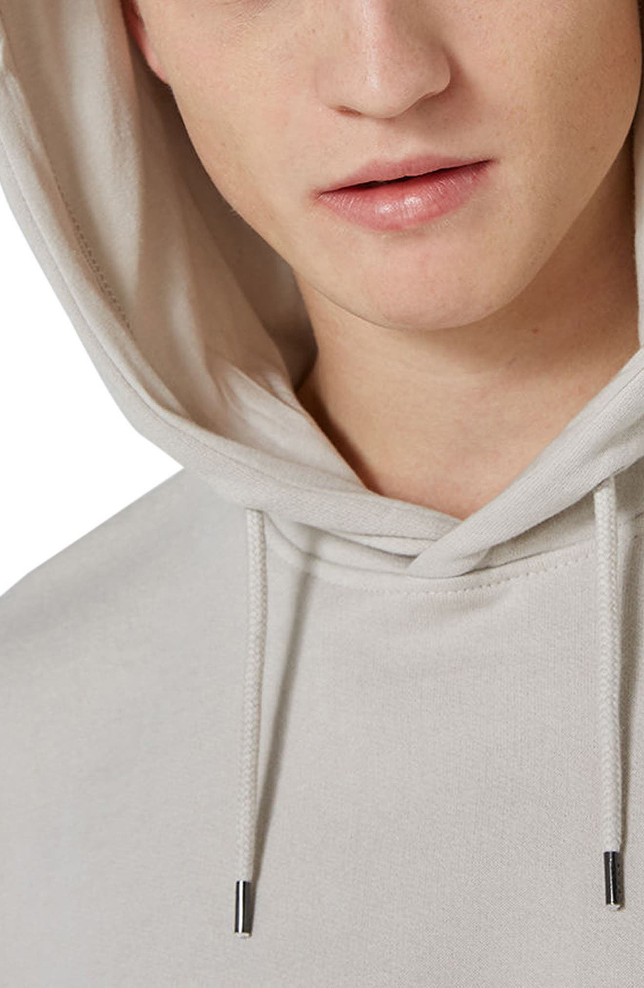 Classic Hoodie,                             Alternate thumbnail 3, color,                             STONE