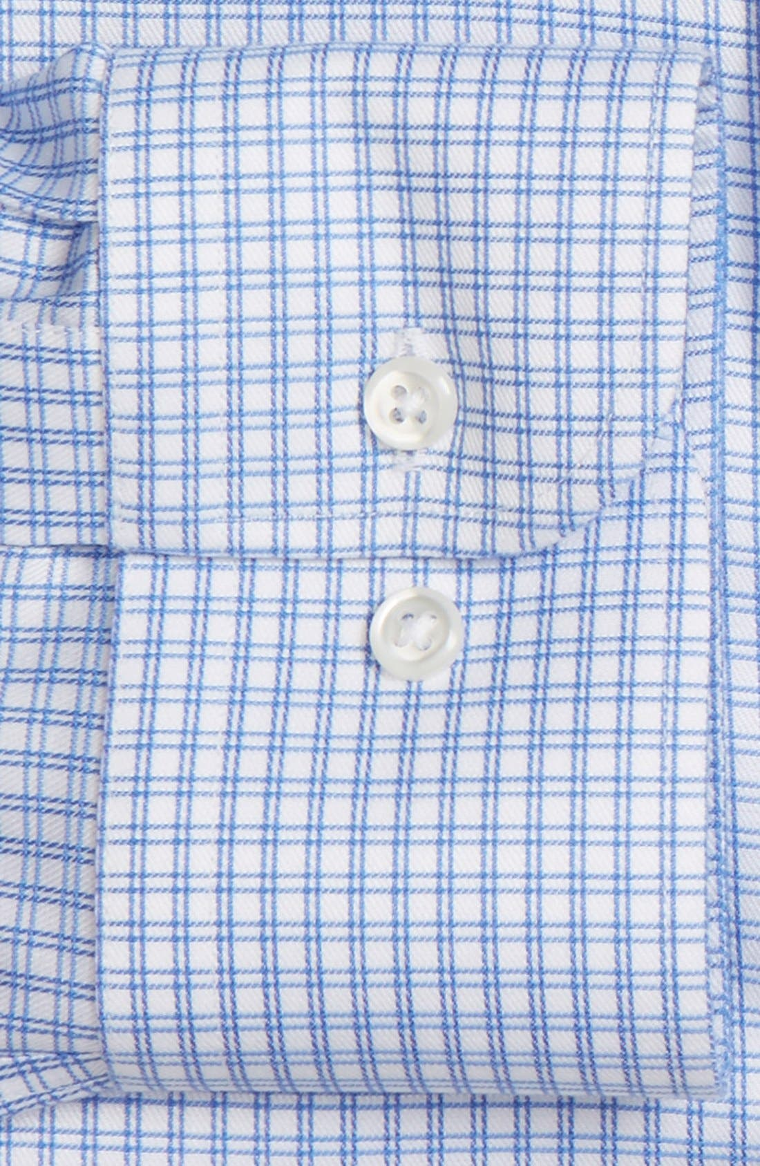 Smartcare<sup>™</sup> Trim Fit Check Dress Shirt,                             Alternate thumbnail 2, color,                             420