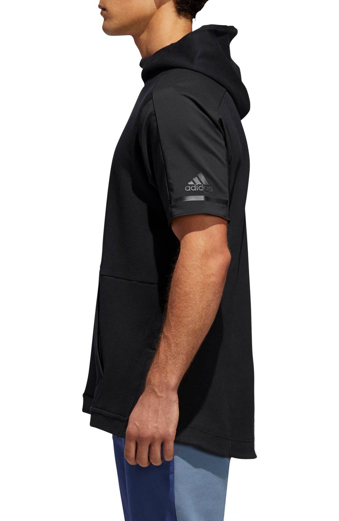 SQD Short Sleeve Hoodie,                         Main,                         color, 001